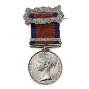 Rare British Military General Service Medal for Canadian Service at Fort Detroit in the War of 1812