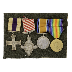 World War I Medal Group to Flight Lieut. Valentine H. Baker, Royal Flying Corps & Royal Air Force