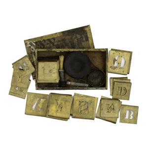 Civil War - Indian War Era Stencil Kit
