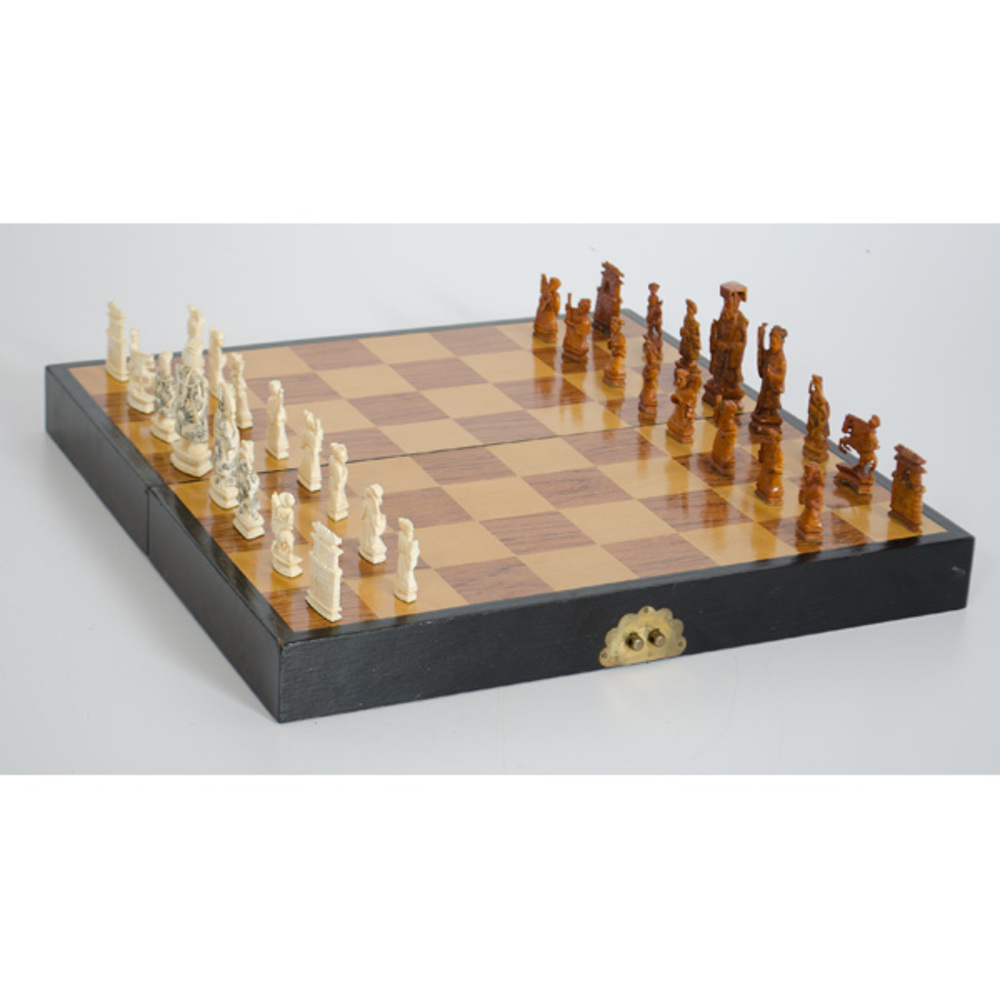 Chinese Carved Ivory Chess Set Cowan 39 S Auction House