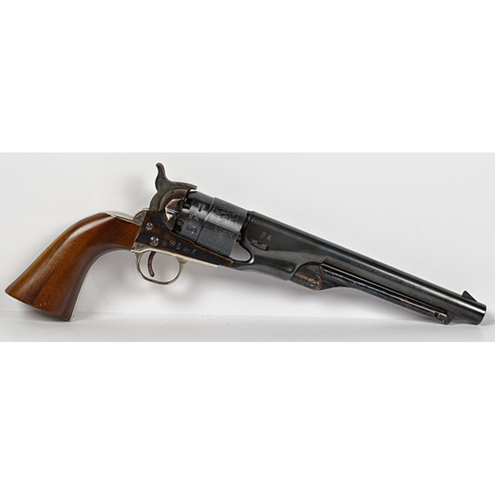 Reproduction Colt 1860 Army Black Powder Revolver Cowan