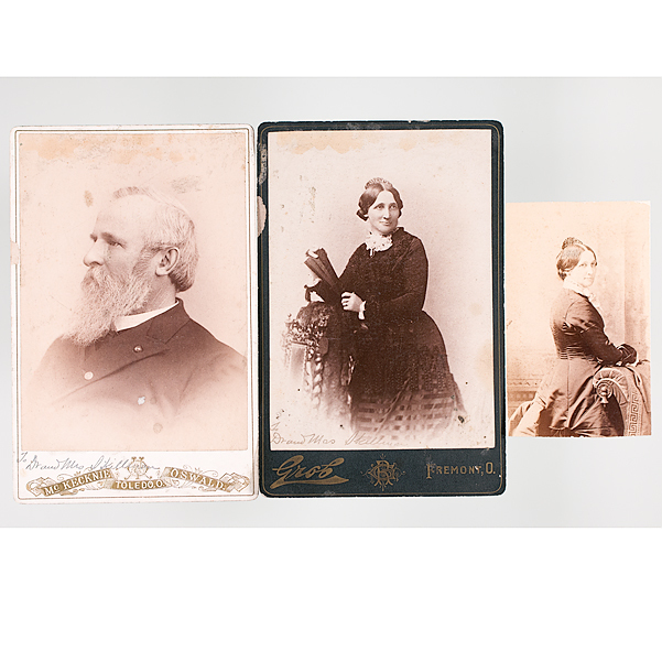 Rutherford B. Hayes & First Lady, Lucy Hayes, Cabinet Cards & CDV ...