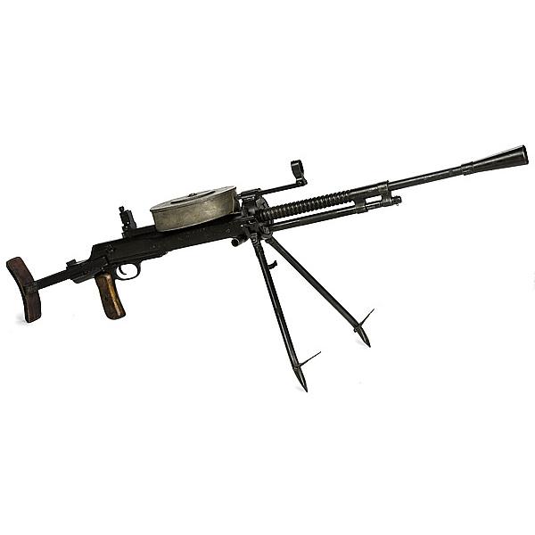 Russian D T  Light Machine Gun | Cowan's Auction House: The