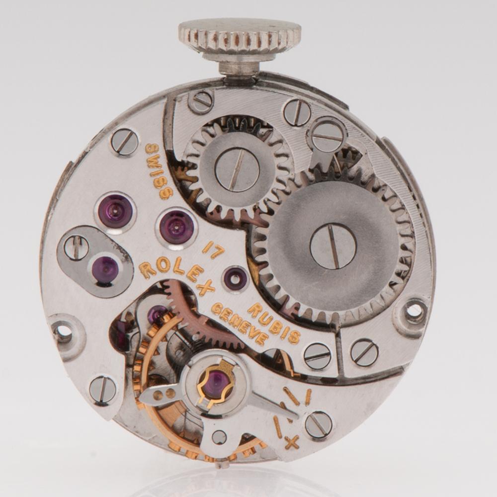 rolex precision diamond watch in 18 karat white gold. Black Bedroom Furniture Sets. Home Design Ideas