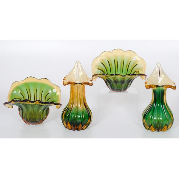 Unikat Van Eyk Glass Vases Bowls Cowans Auction House The