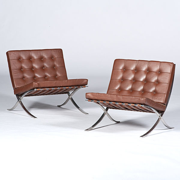Mies Van Der Rohe Barcelona Chairs Cowans Auction House The