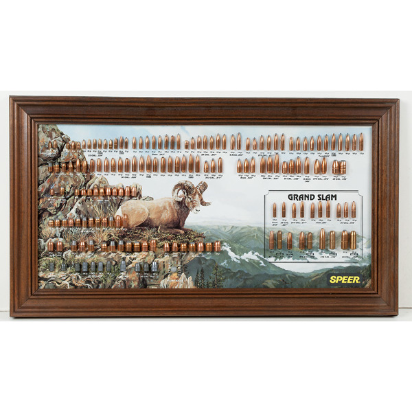 Speer Bullet Board | Cowan's Auction House: The Midwest's