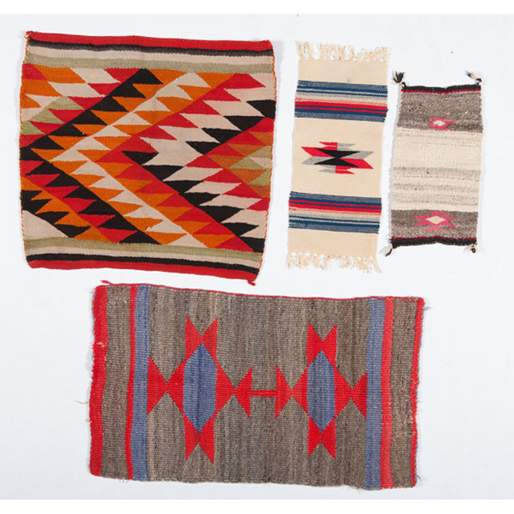 Mexican Rug History: Navajo And Mexican Samplers / Rugs