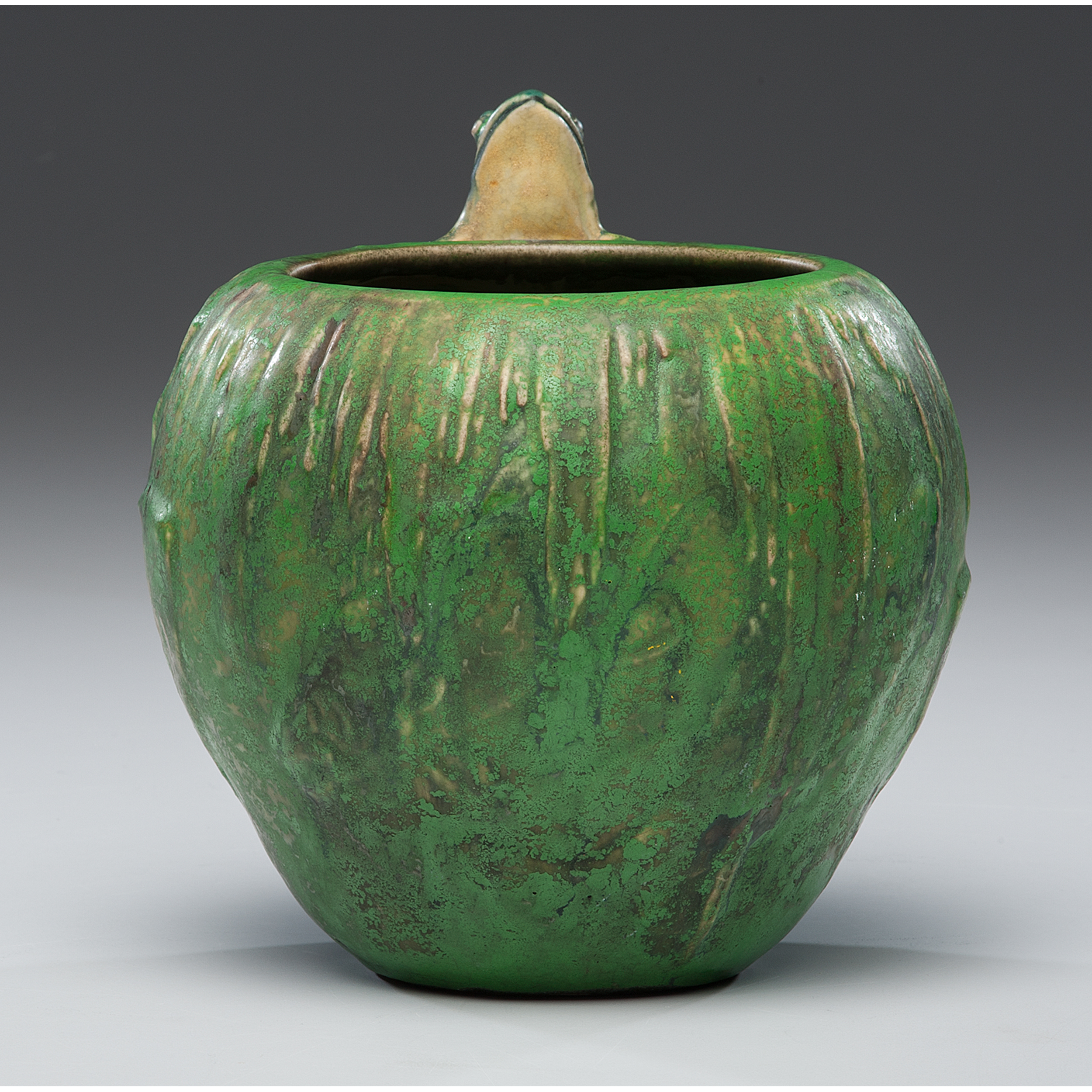 Auctions In Ohio >> Weller Coppertone Single Frog Vase | Cowan's Auction House: The Midwest's Most Trusted Auction ...