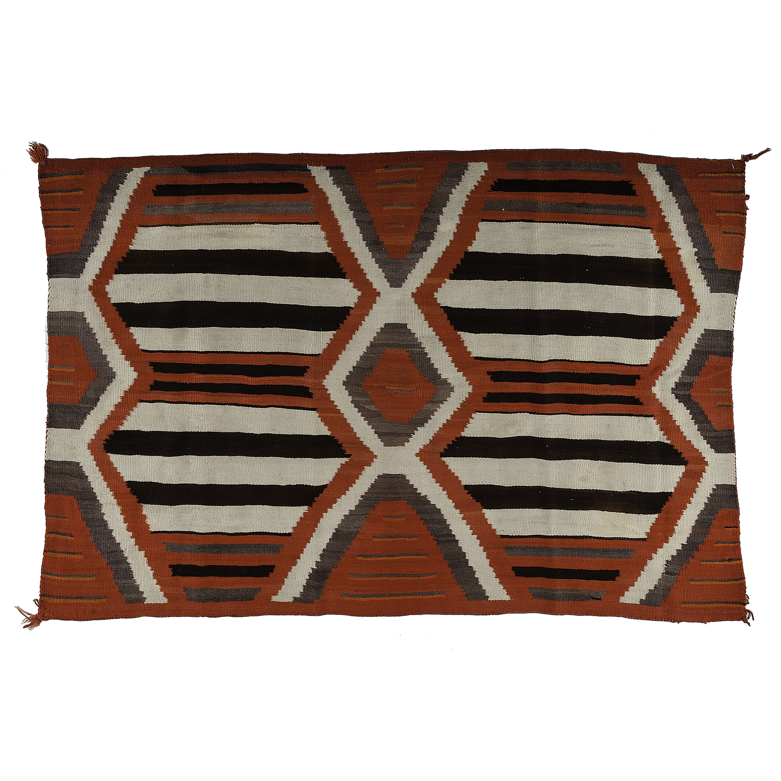 Navajo Third Phase Chief S Blanket From The Collection Of