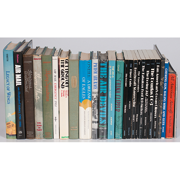 Collection of Aviation Books including An American Aircraft by ...