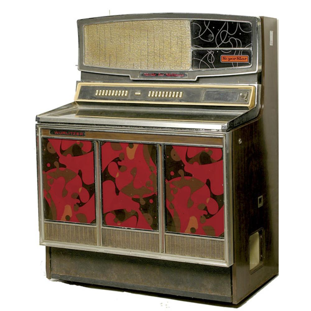 Wurlitzer Superstar Jukebox, | Cowan's Auction House: The Midwest's