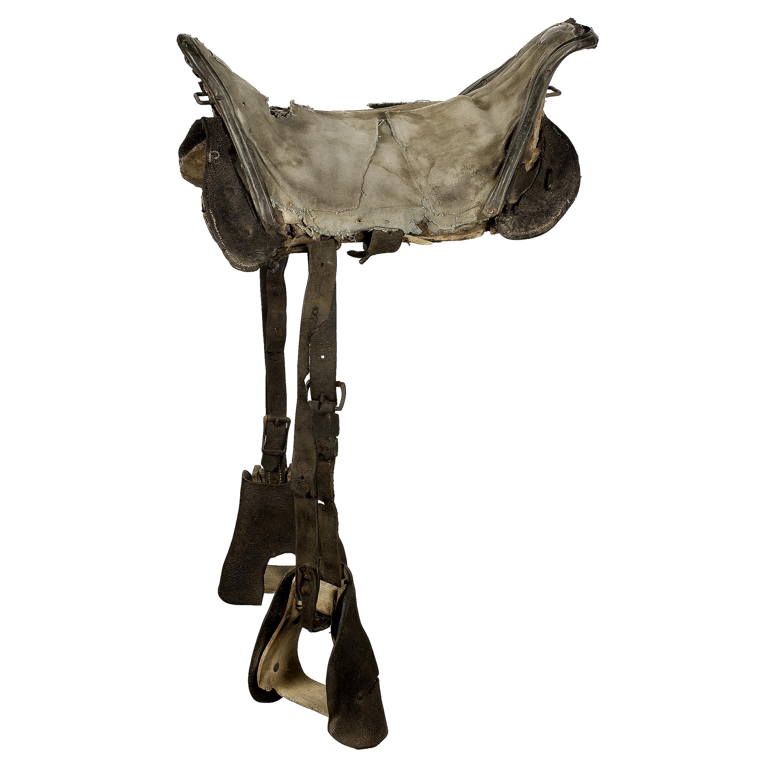 Confederate 1863 Pattern Grimsley Artillery Saddle | Cowan's