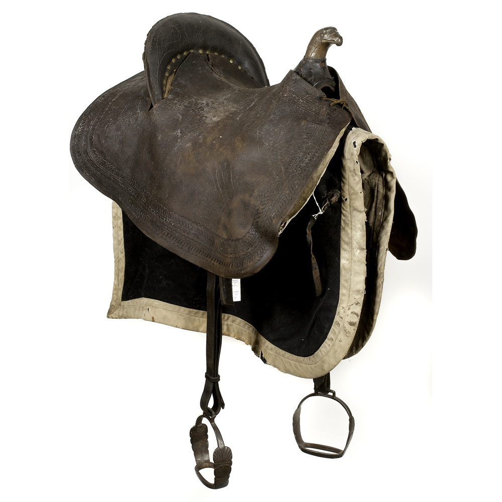 Eagle Pommel Officer S Saddle With Pad And Shabraque Ca