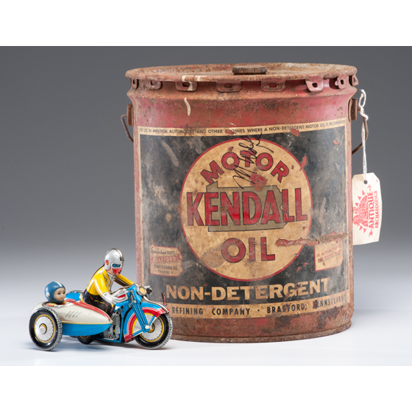 Kendall Oil Can Plus Cowan 39 S Auction House The Midwest