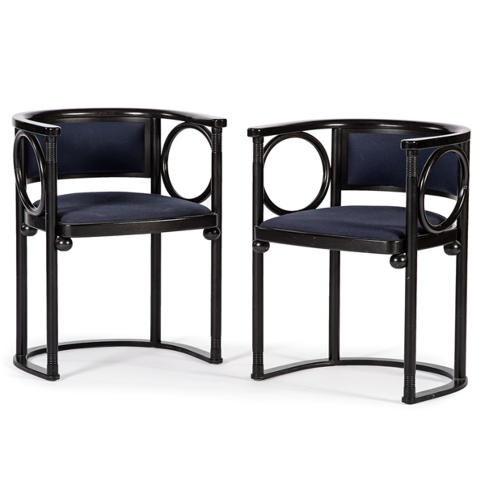 Josef Hoffmann Chairs By Wittmann