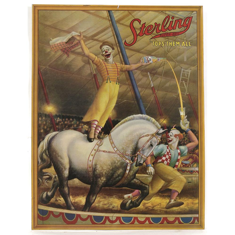 Открытка старый цирк