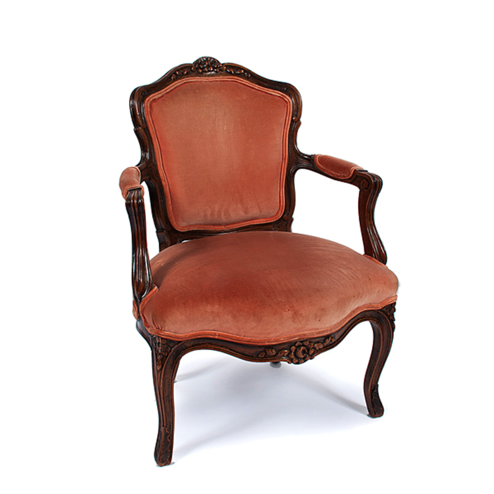 louis xv fauteuil cowan 39 s auction house the midwest 39 s. Black Bedroom Furniture Sets. Home Design Ideas