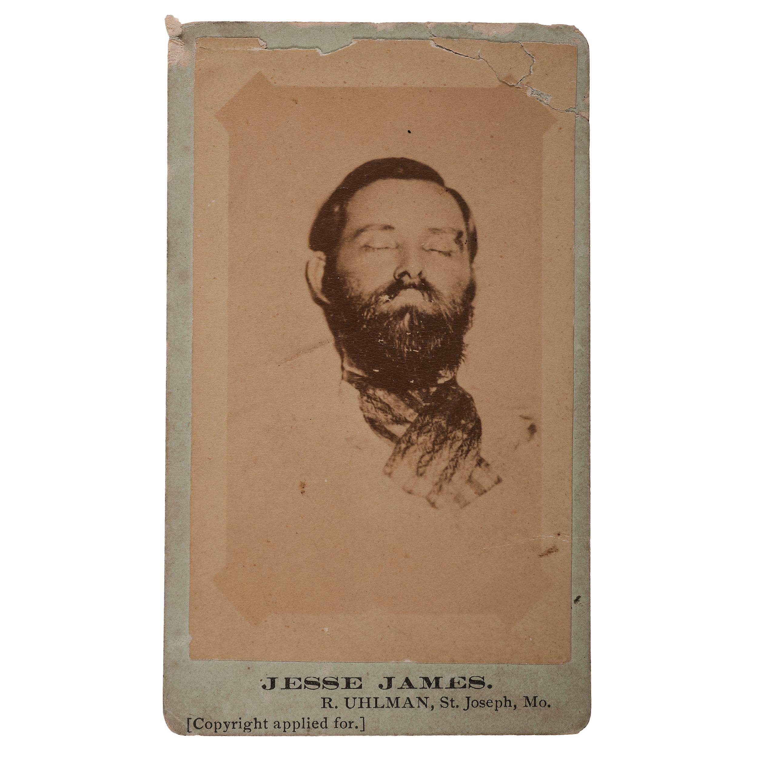 where was jesse james killed