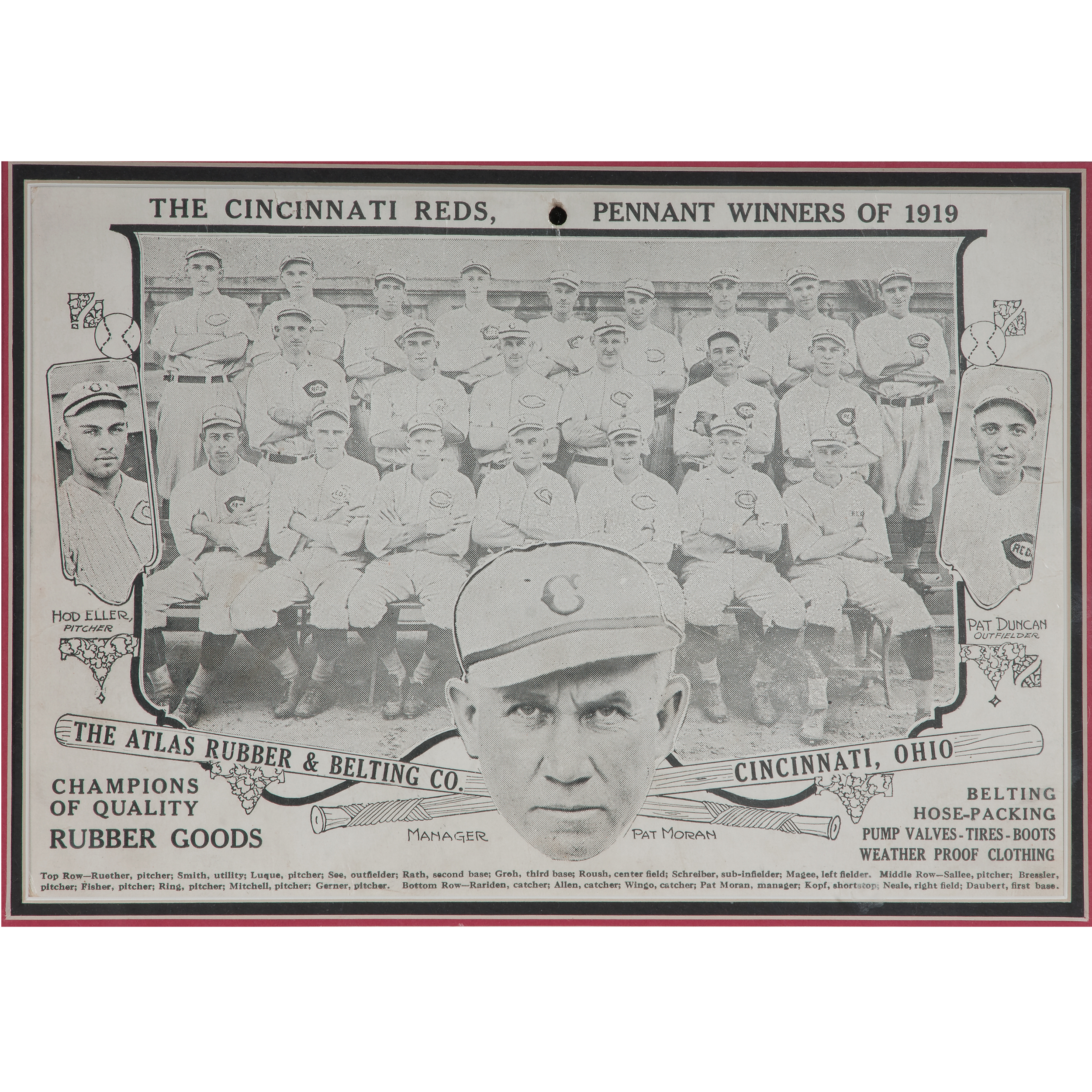 1919 white sox owner
