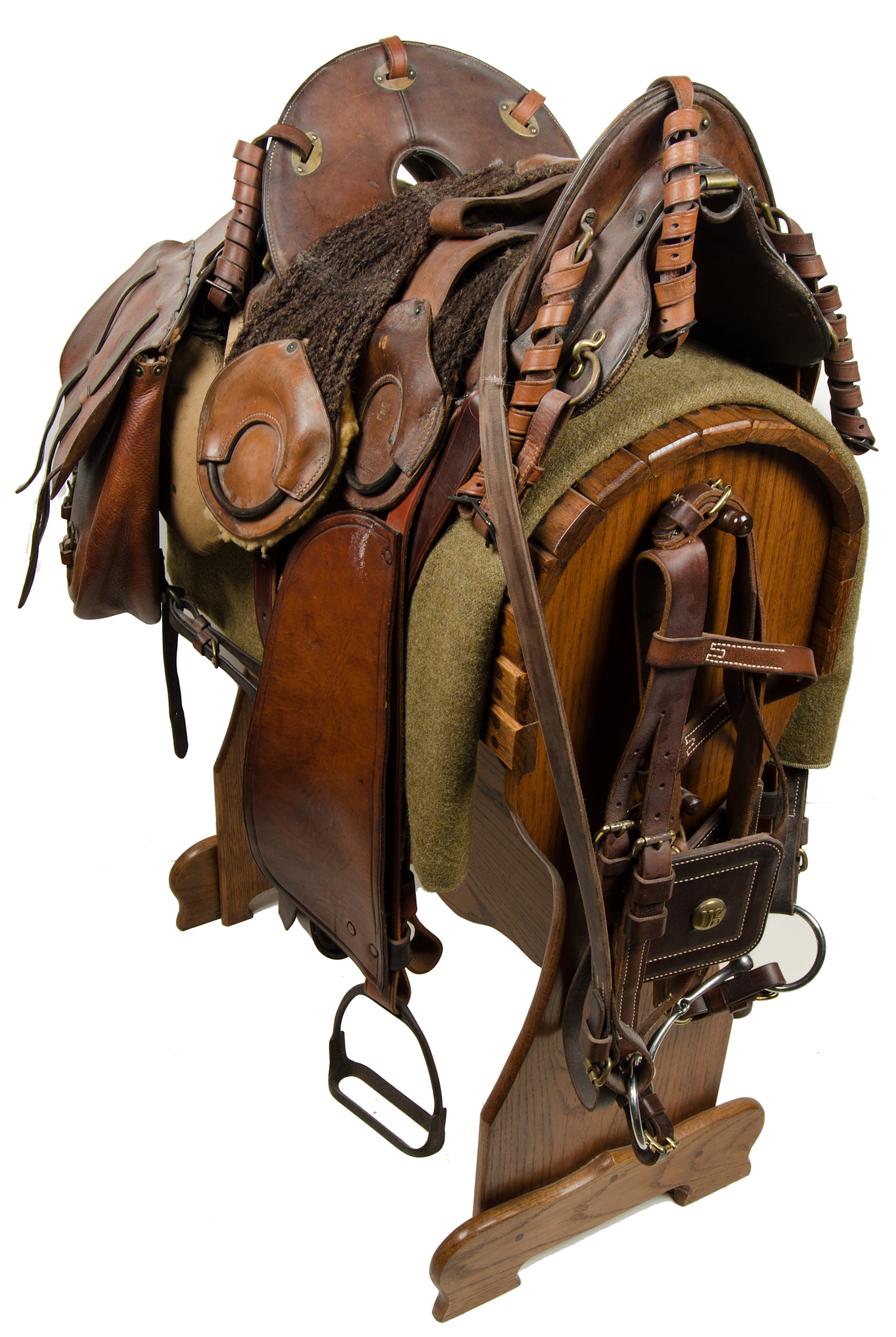 1904 Artillery Second Pattern McClellan Saddle   Cowan's