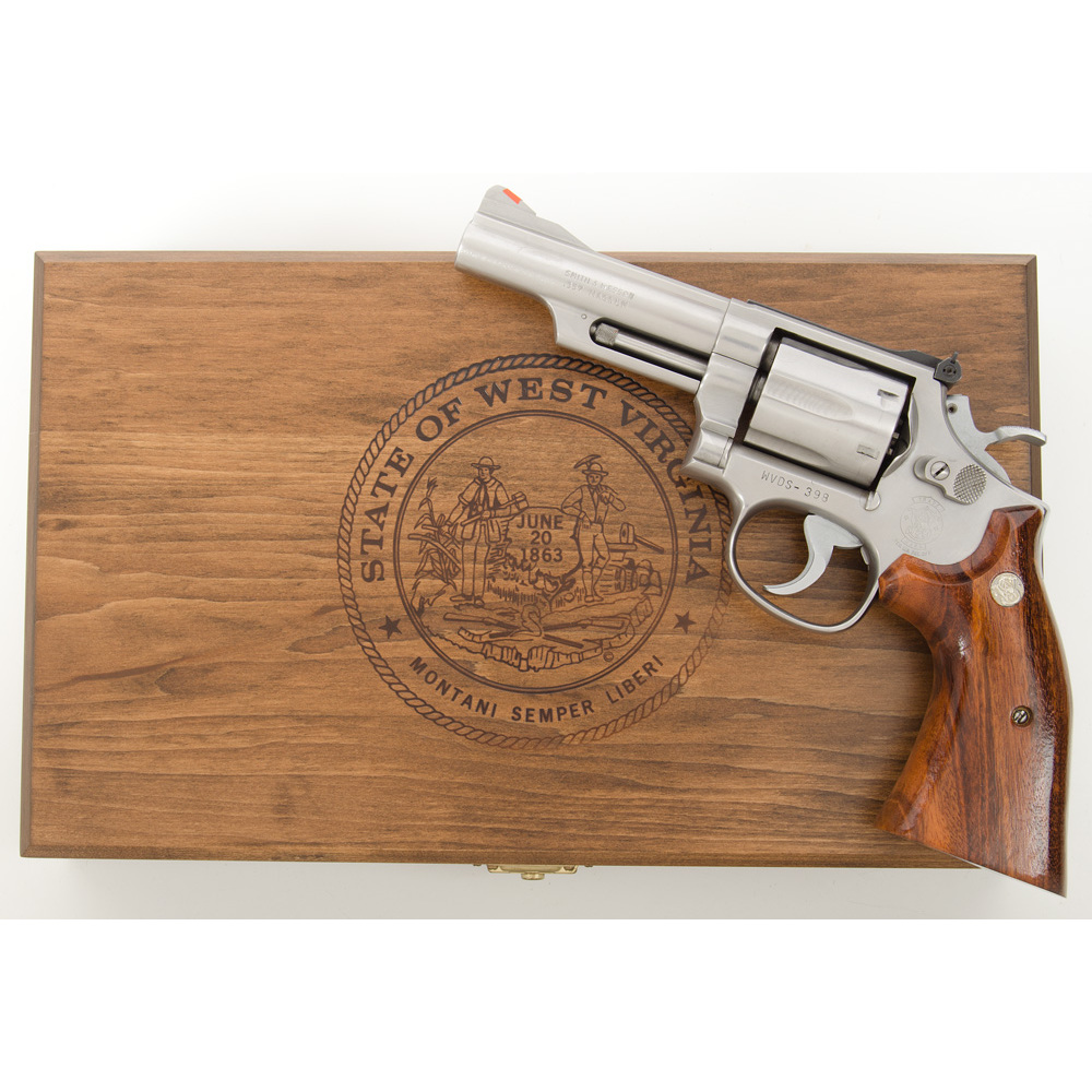 Smith & Wesson Model 66-2 State of West Virginia Commemorative