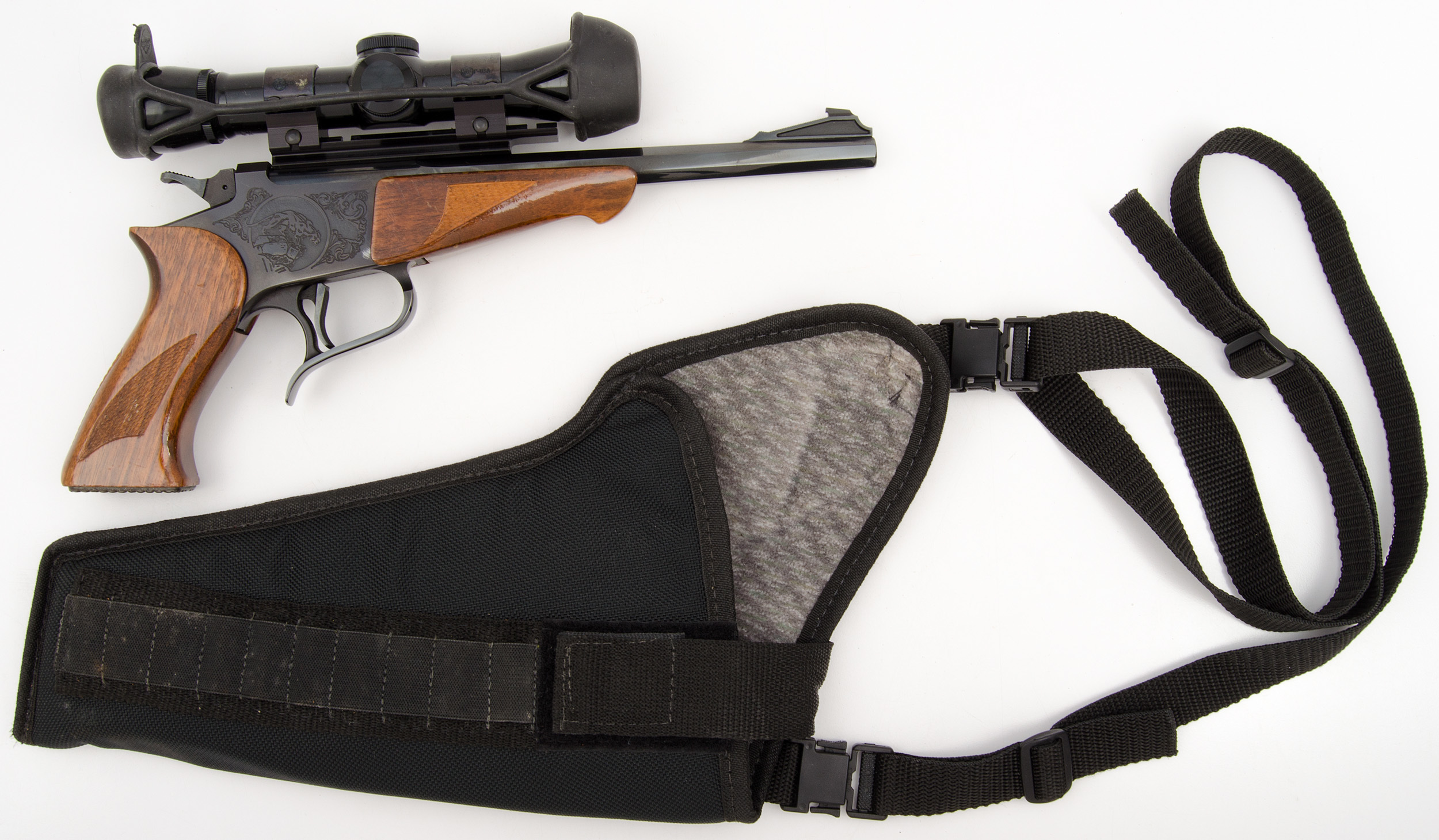 Thompson Center Arms Target Pistol with Weaver Scope and