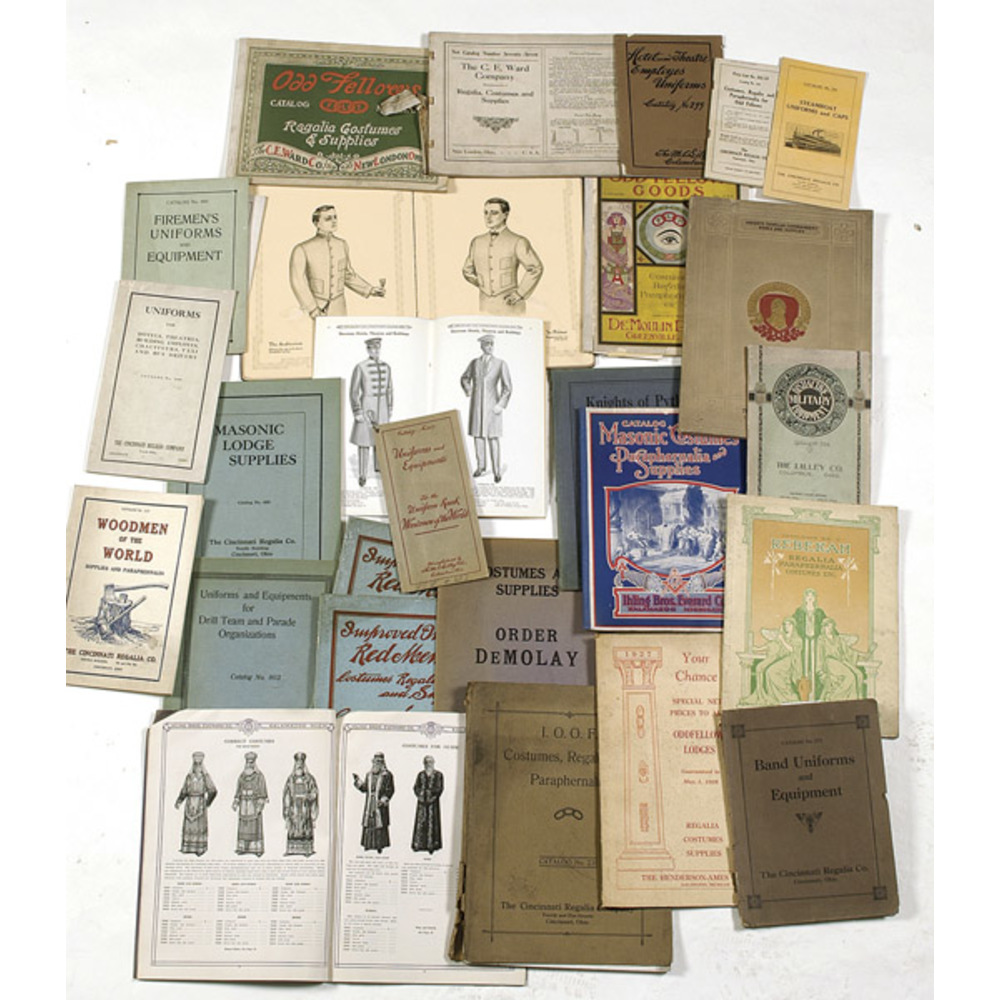 Regalia and Other Uniform Catalogs, | Cowan's Auction House: The