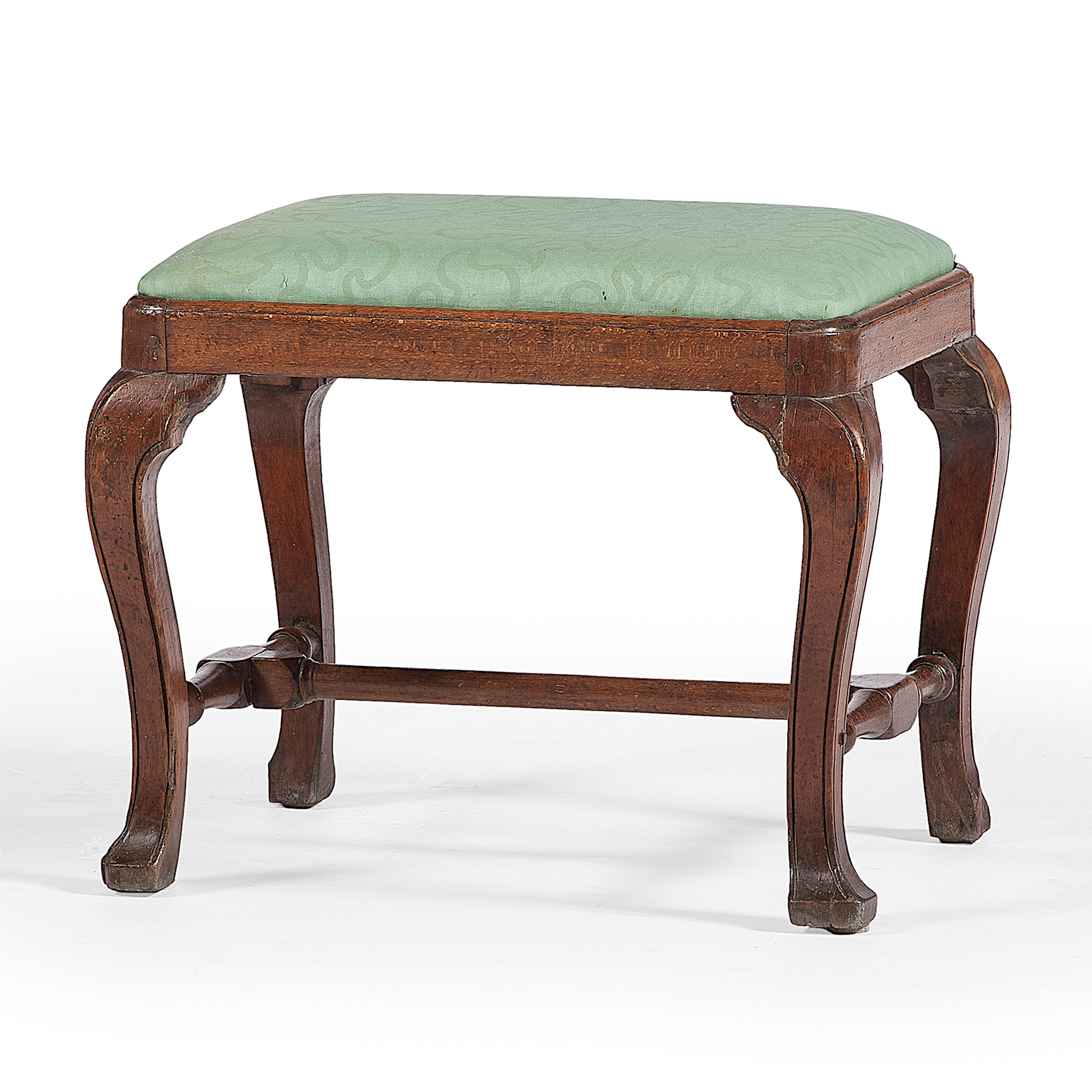 Queen Anne Foot Stool Cowan 39 S Auction House The Midwest