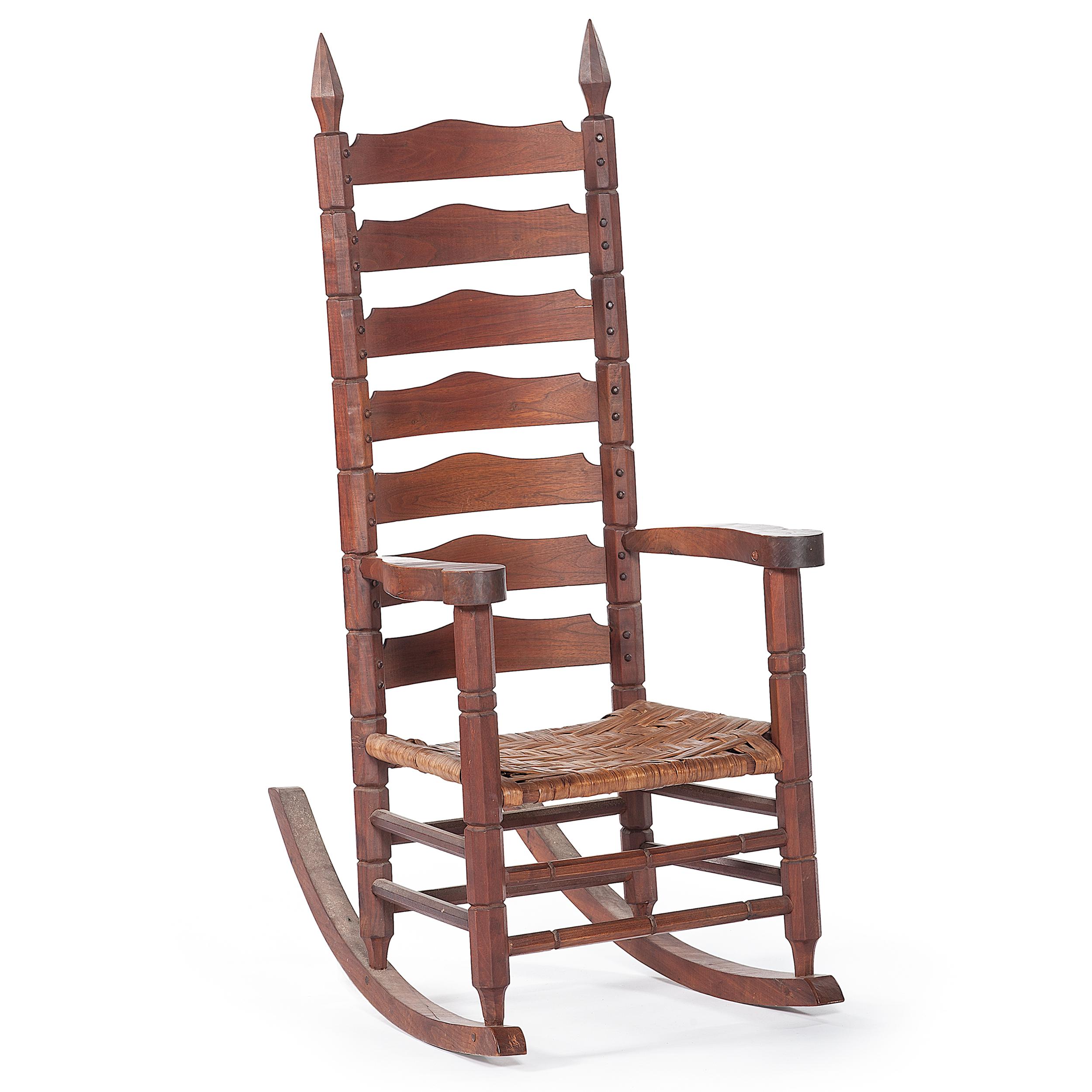 Superb Chester Cornett Folk Art Rocking Chair Cowans Auction Beatyapartments Chair Design Images Beatyapartmentscom