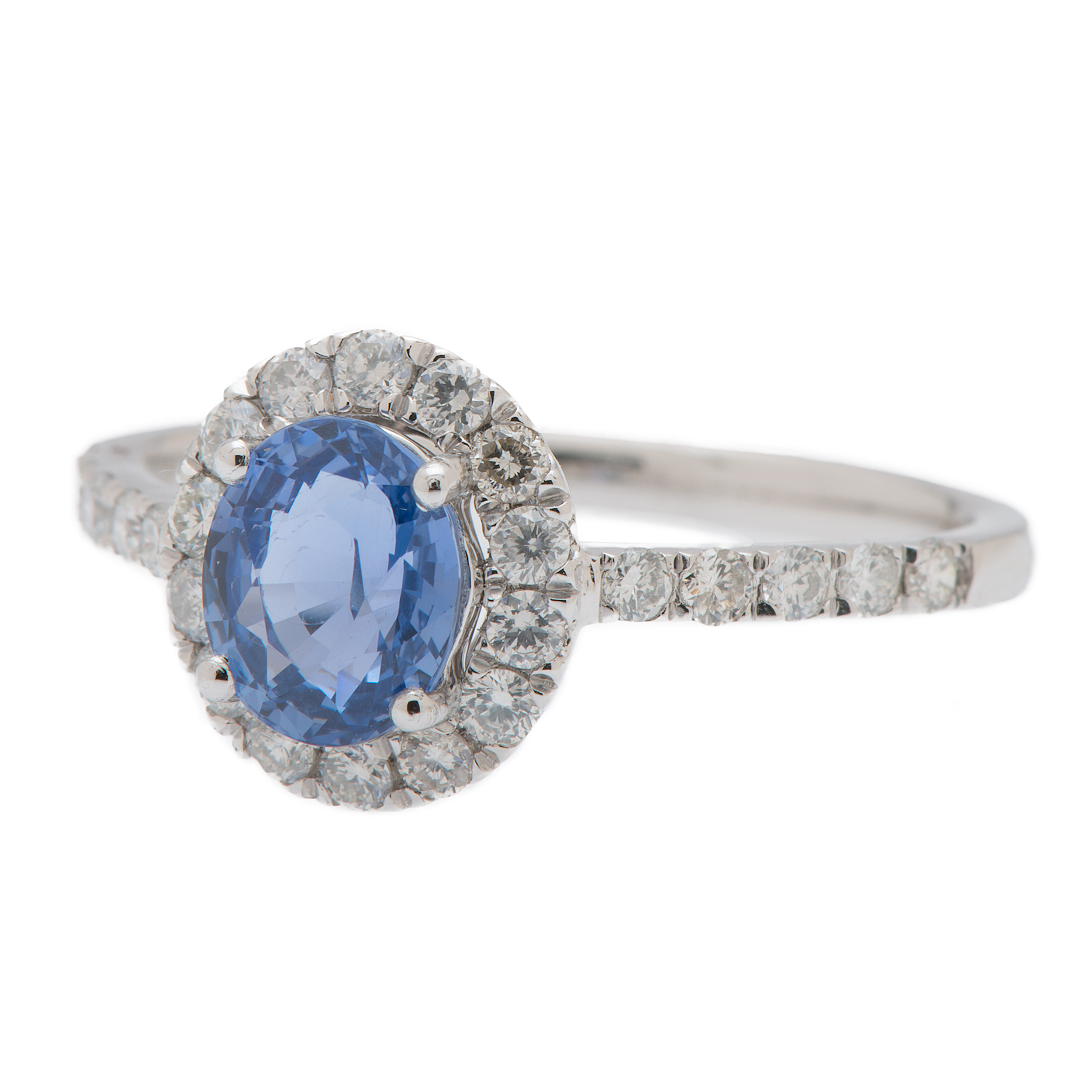 unheated diamond ring oval natural and burma platinum sapphire product gia