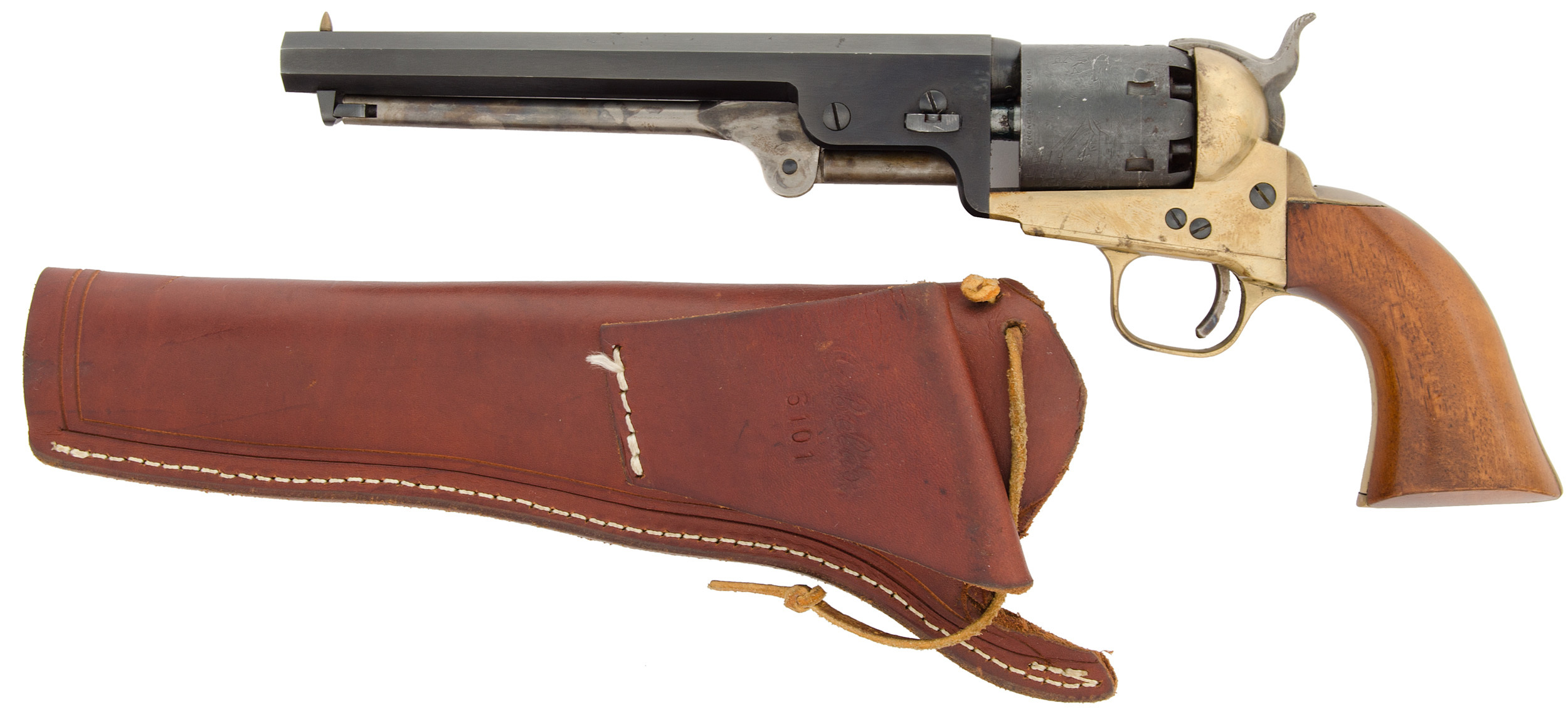 Reproduction Colt Model 1851 Navy Revolver by CVA | Cowan's