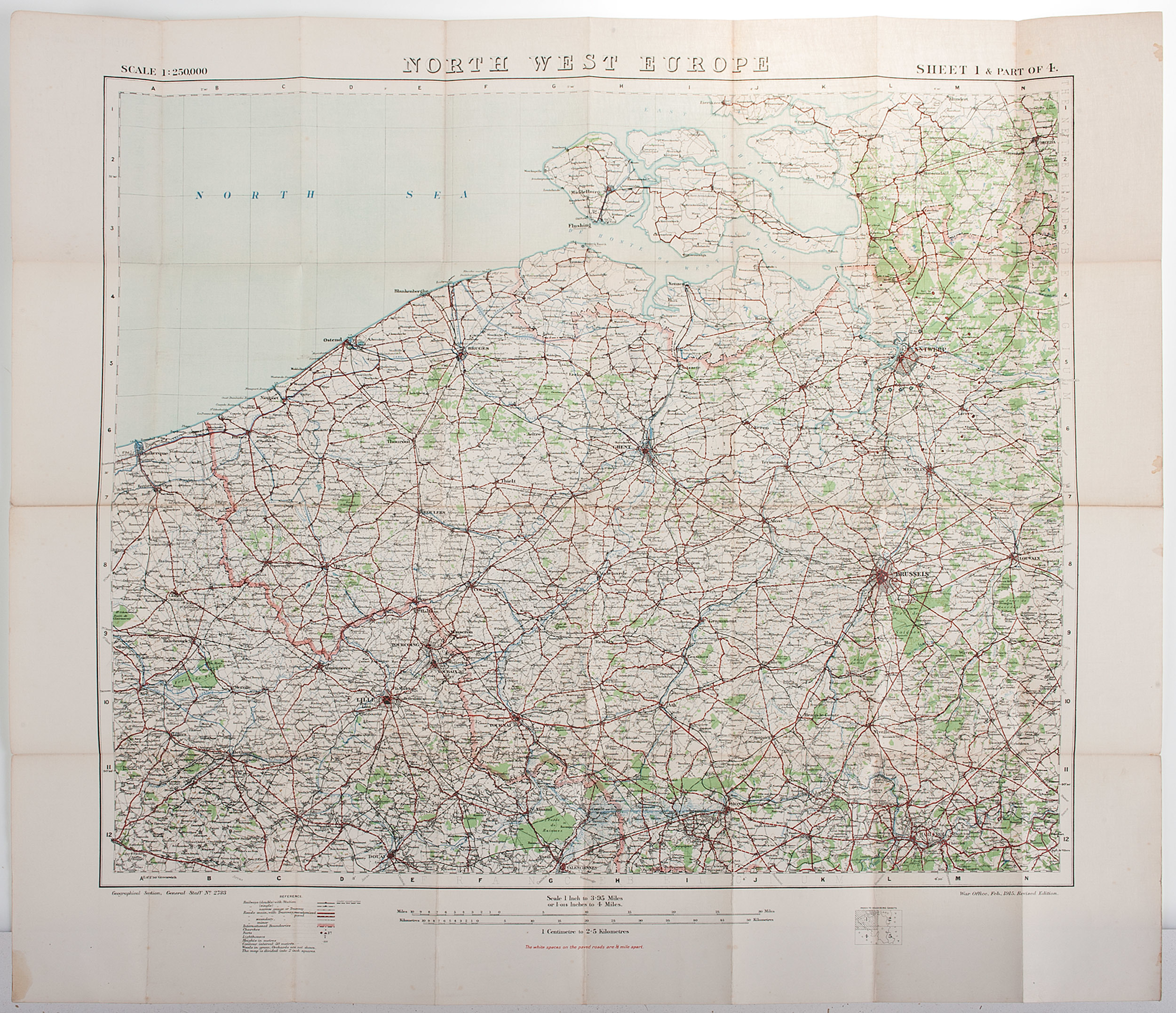 World war one maps wwi military maps of north west europe world war one maps wwi military maps of north west europe belgium gumiabroncs Images