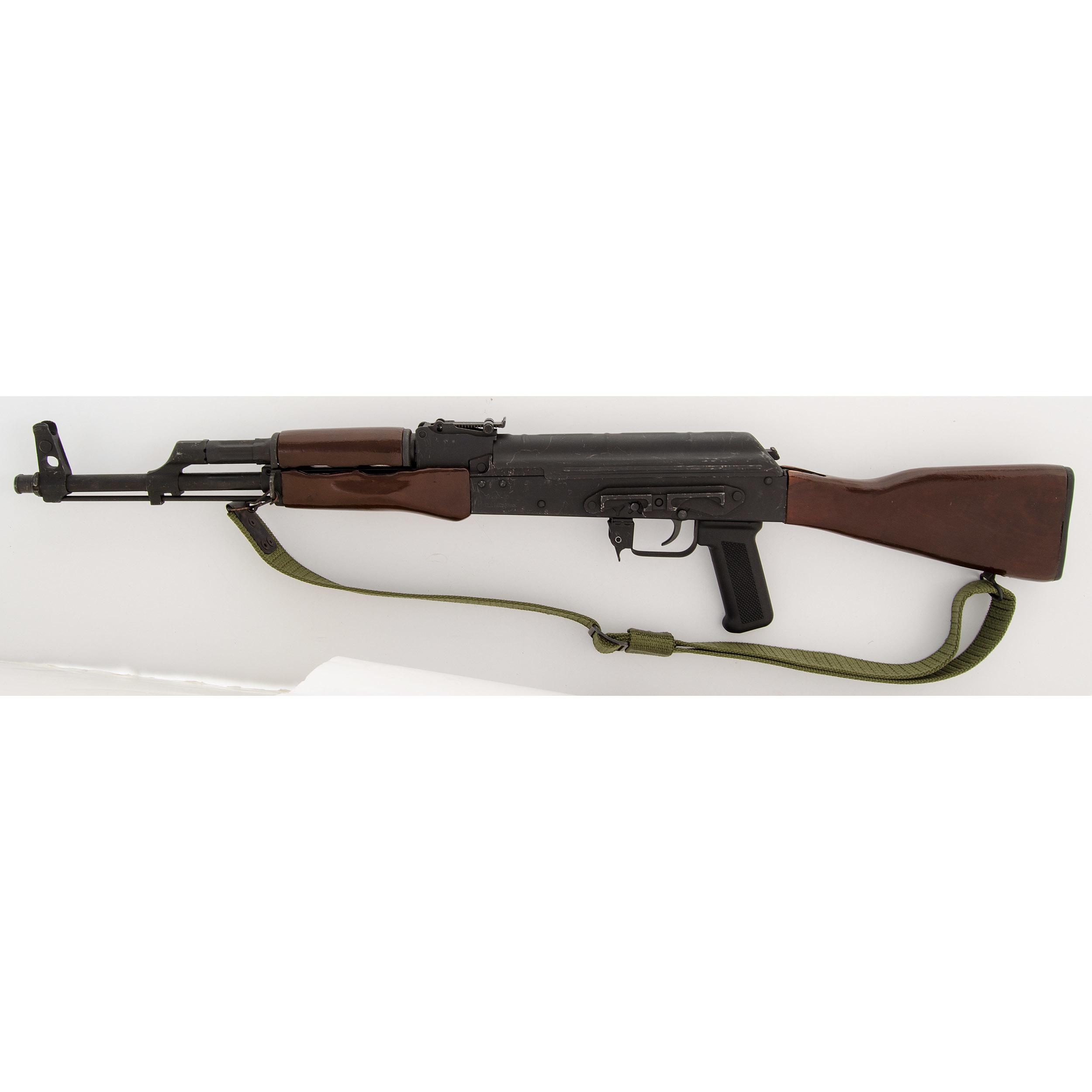 Romanian WASR-10 Semi-Automatic Rifle   Cowan's Auction House: The