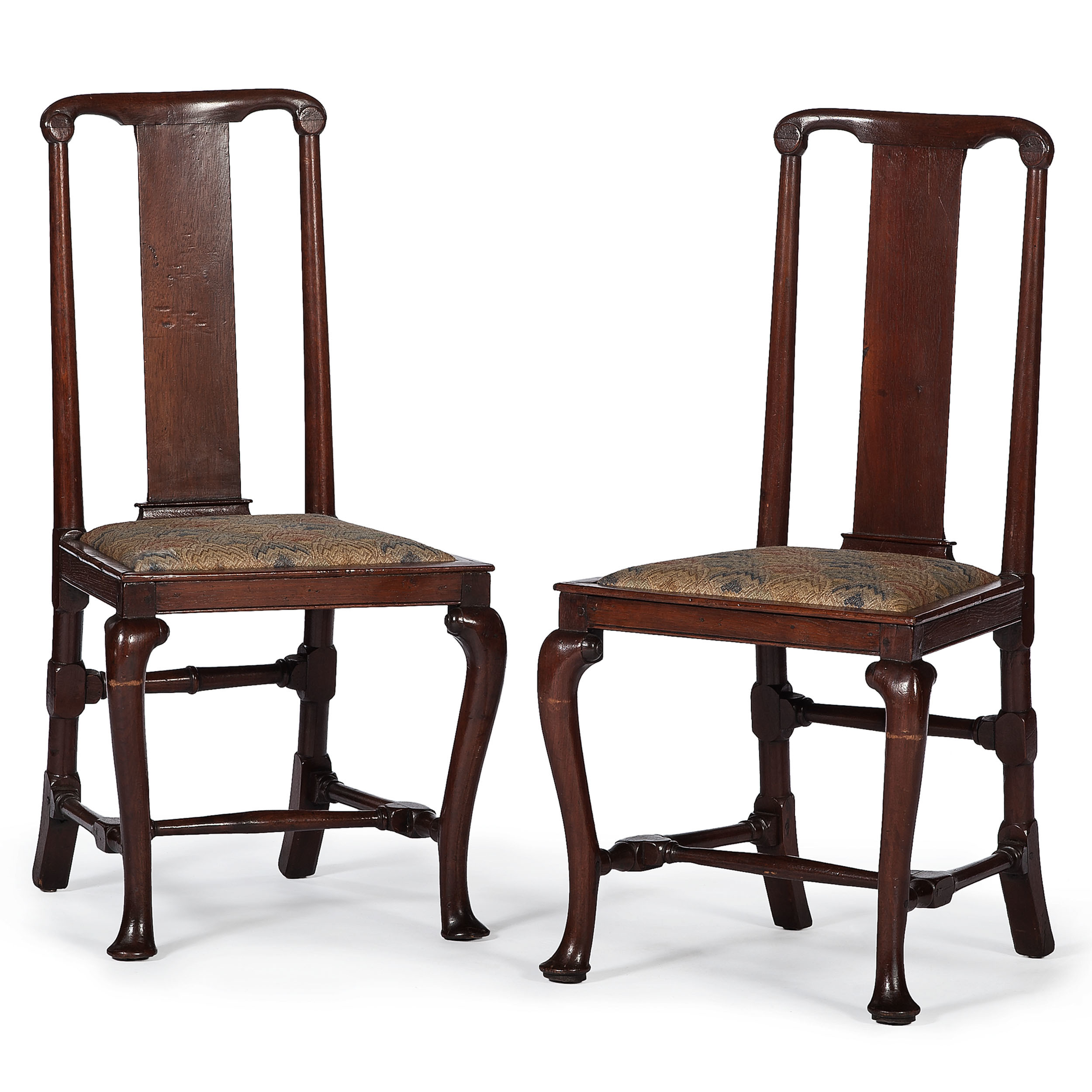 Continental Queen Anne Chairs