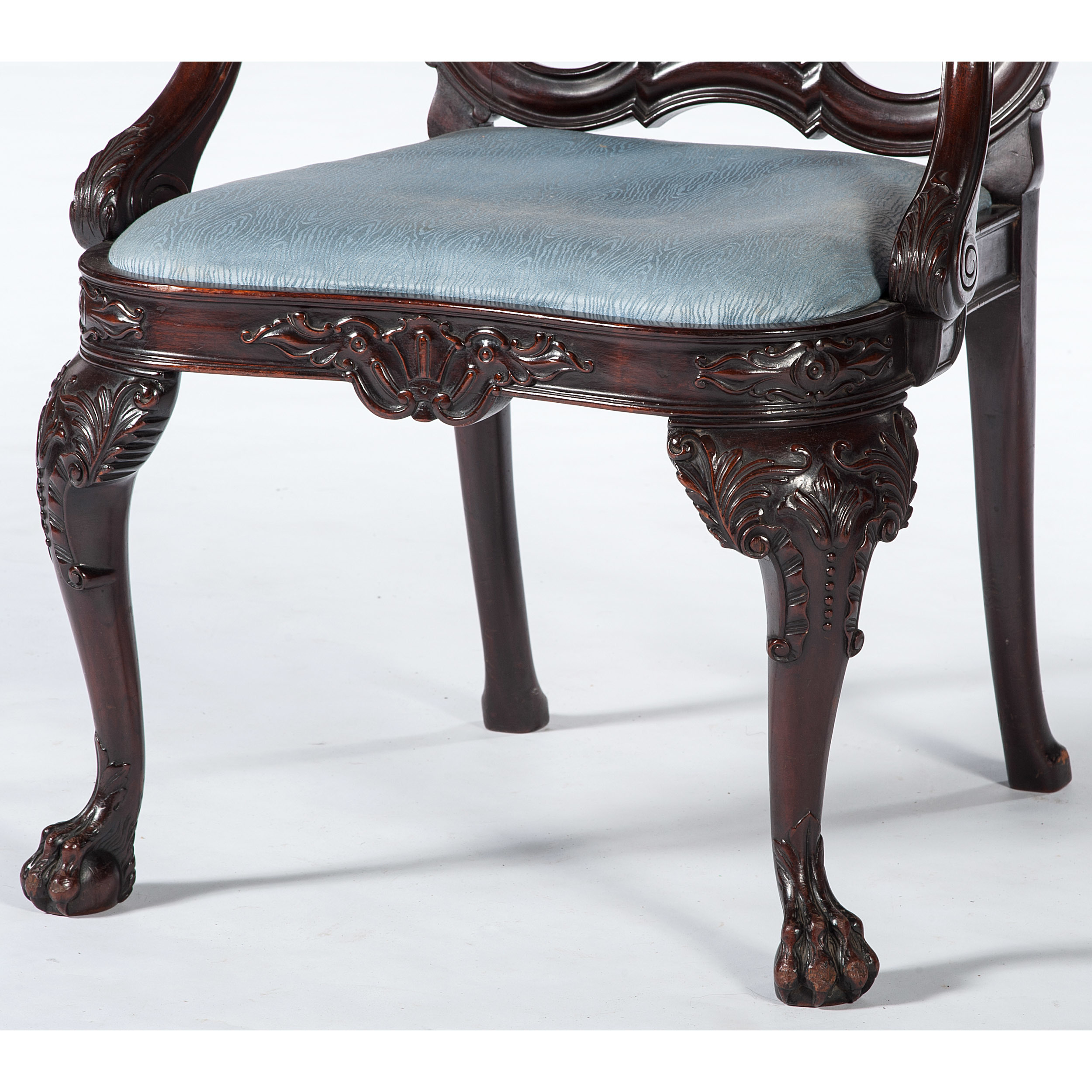 Queen Anne-style Armchair | Cowan's Auction House: The ...