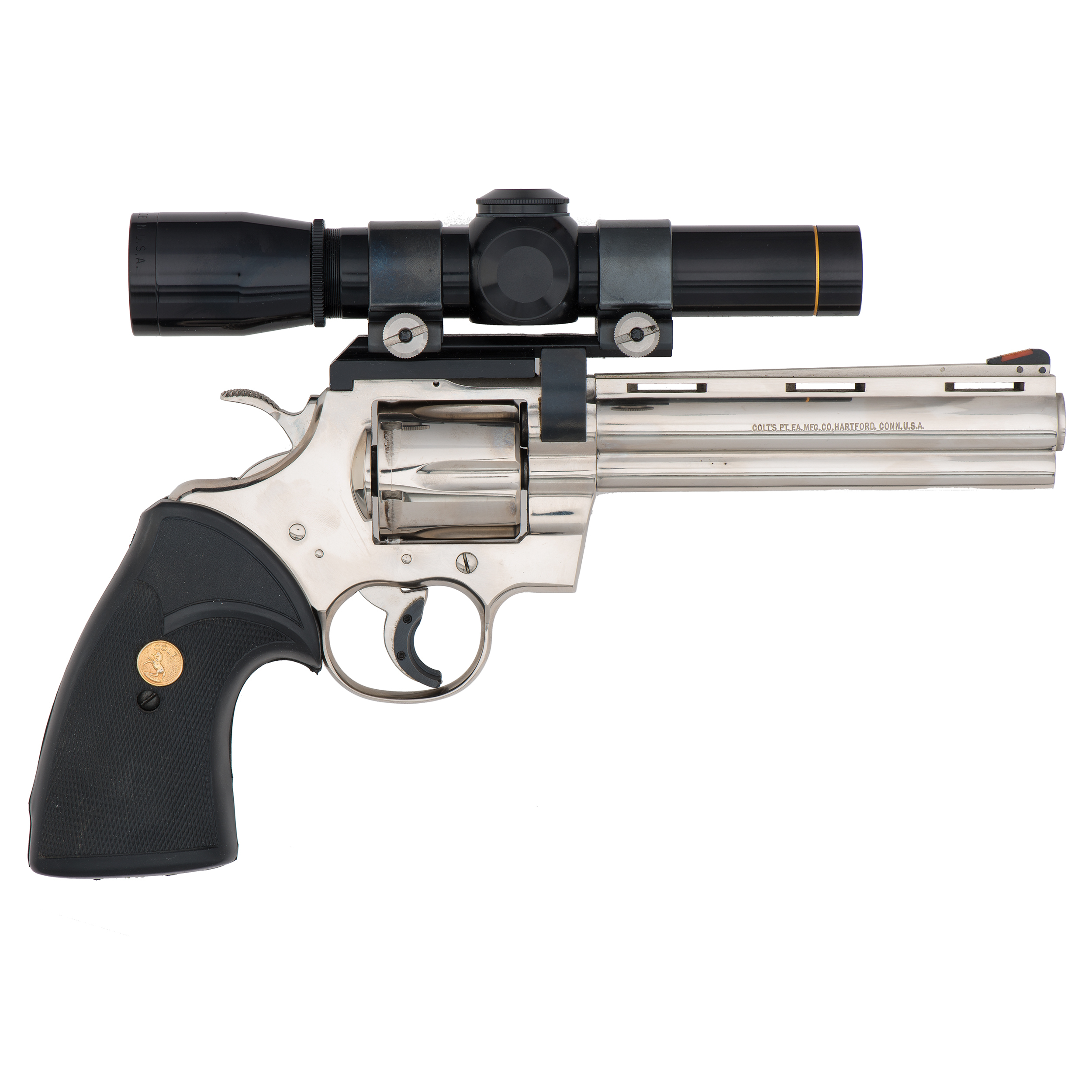 Colt Python Revolver with Scope | Cowan's Auction House: The