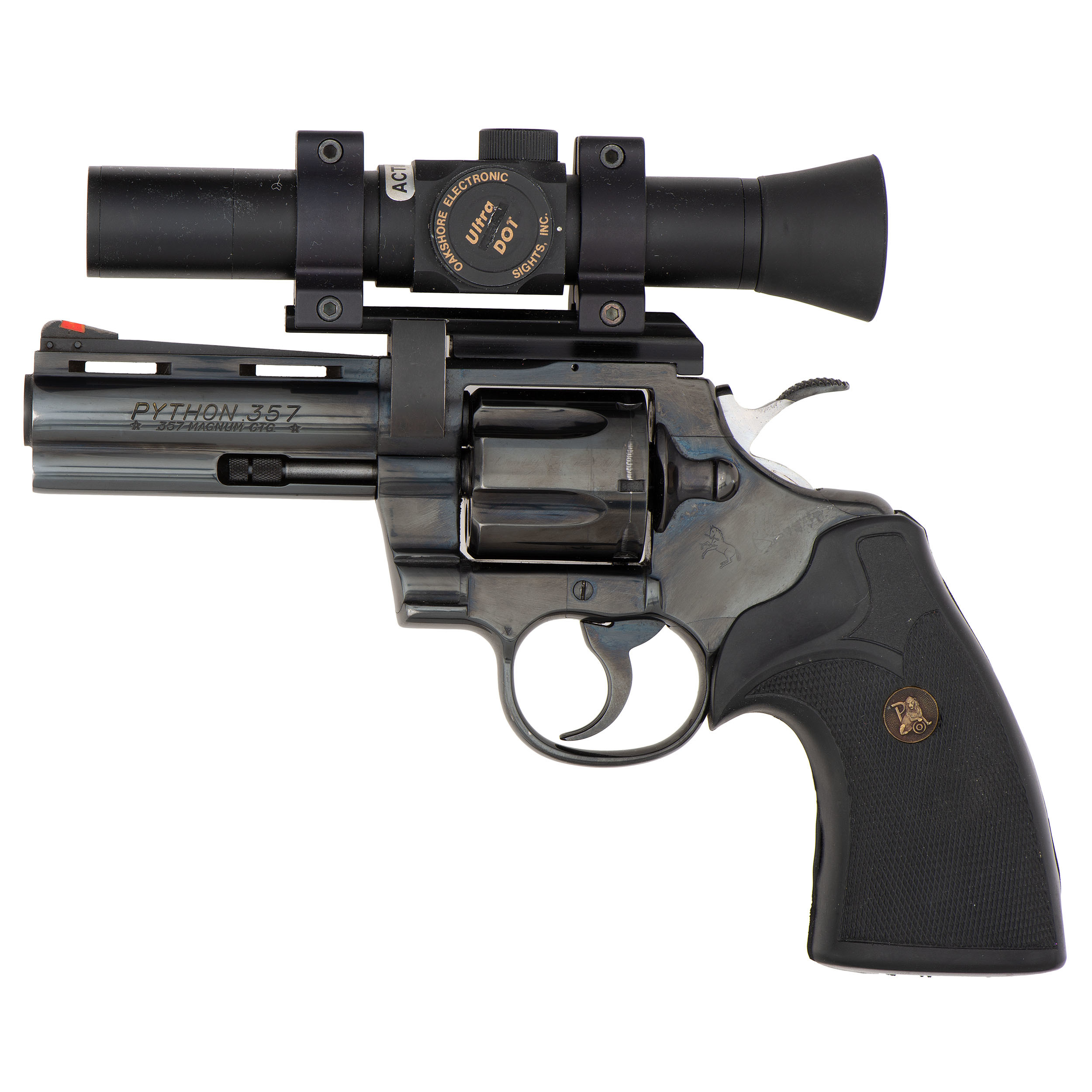 Colt Python Revolver With Ultra Dot Scope | Cowan's Auction House