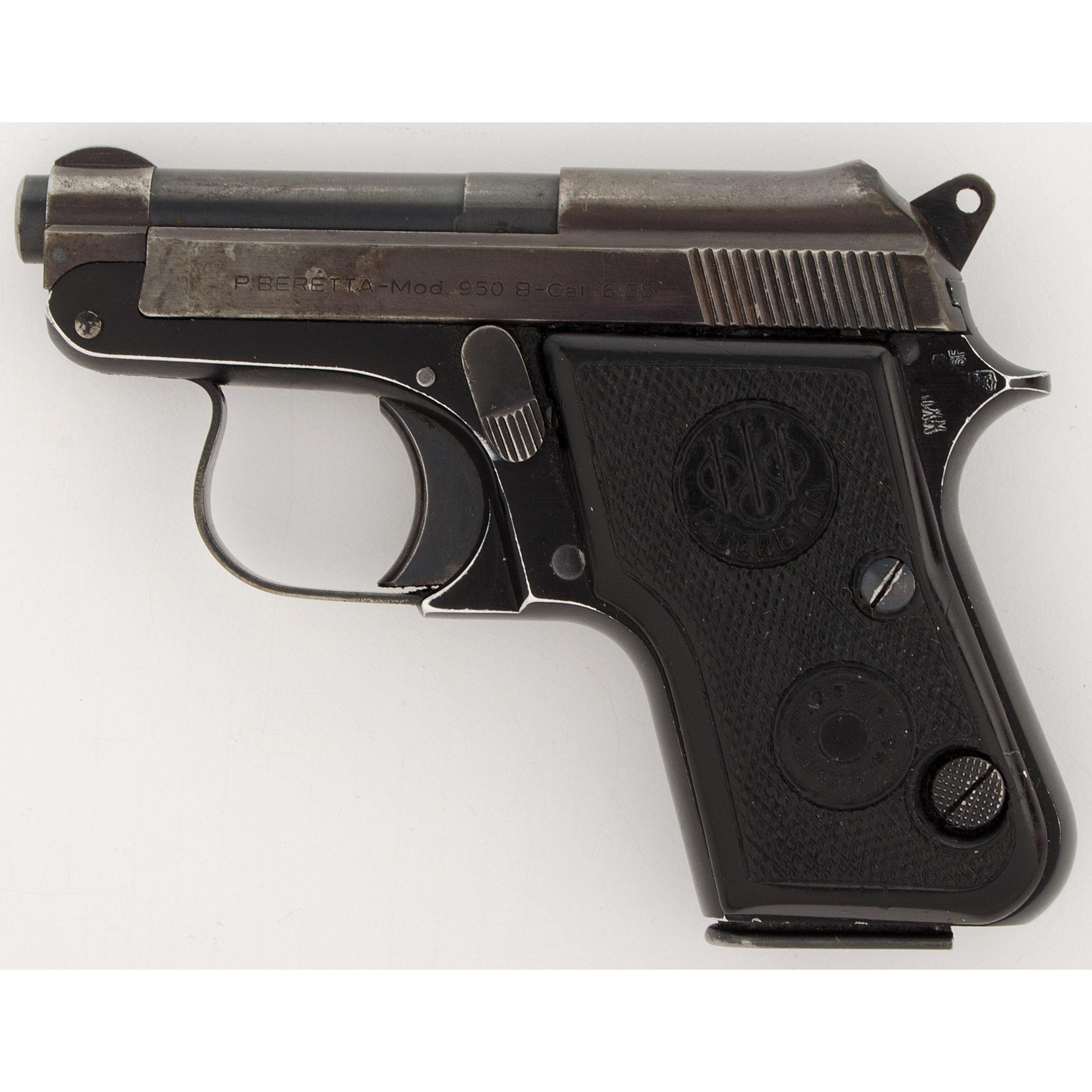 Beretta Model 950-B Pistol   Cowan's Auction House: The