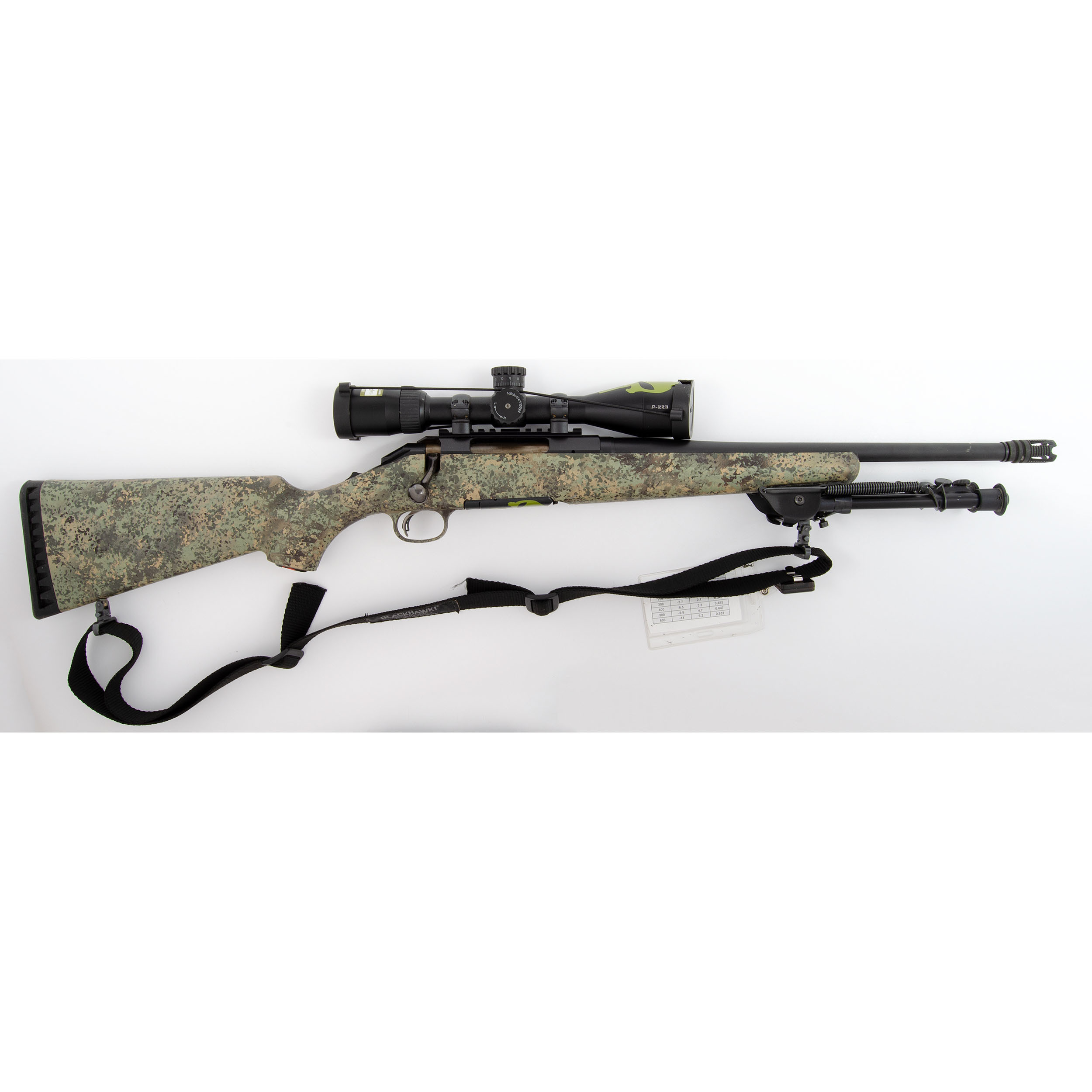 ruger american bolt action rifle with scope cowan s auction house