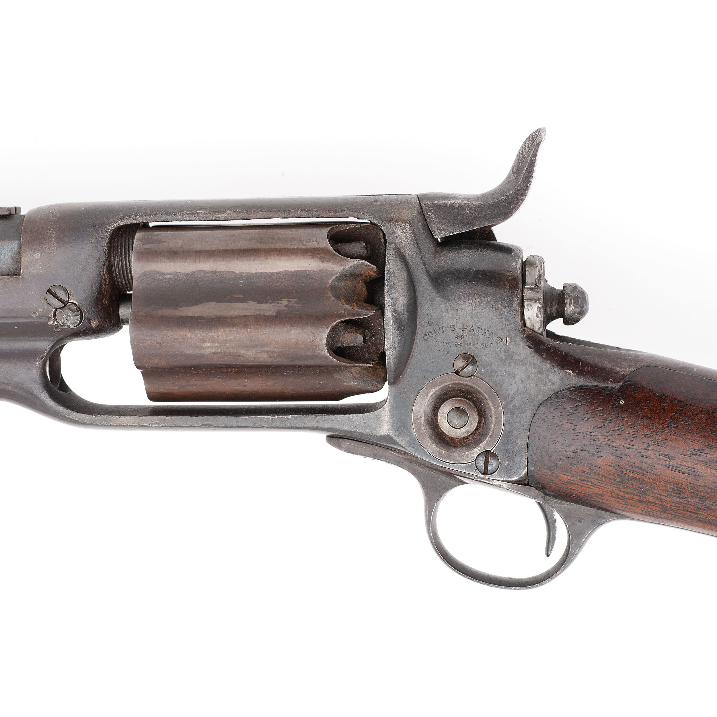 Colt Model 1855 Military Revolving Rifle | Cowan's Auction