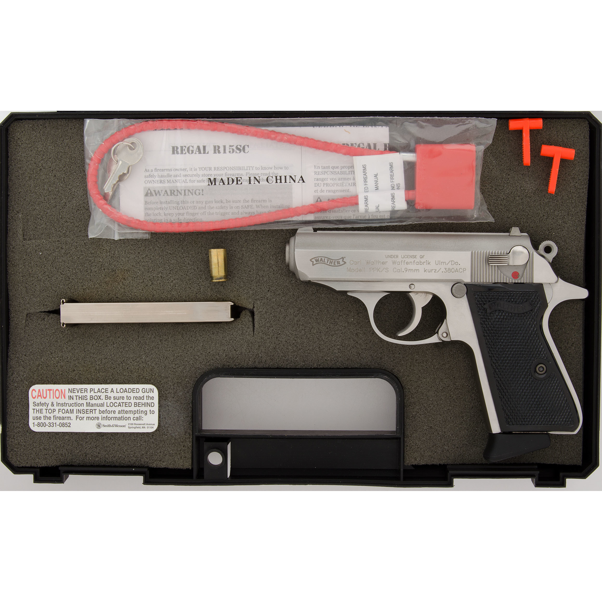 Walther PPKS-1 | Cowan's Auction House: The Midwest's Most