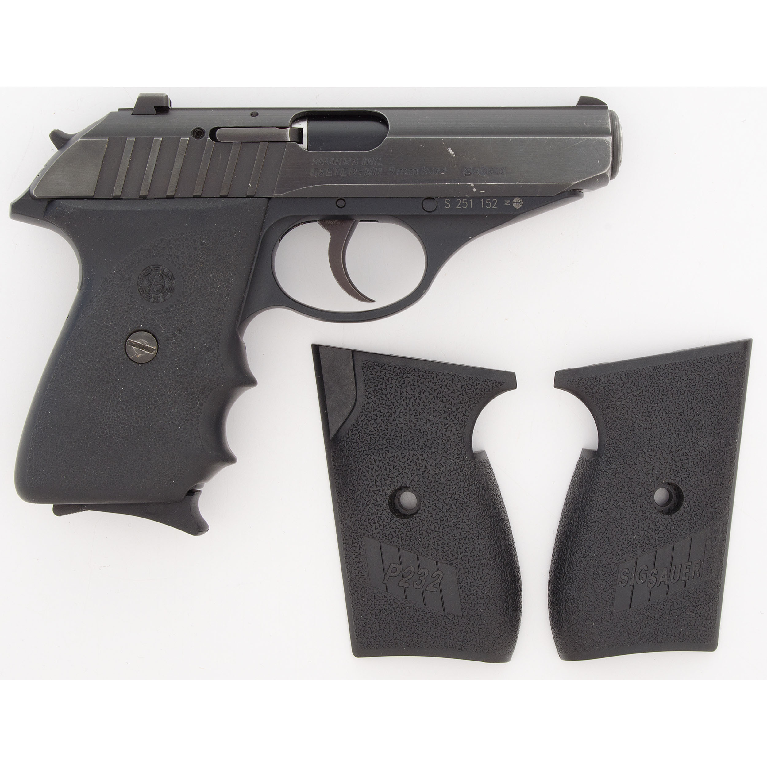sig arms p232 pistol cowan s auction house the midwest s most