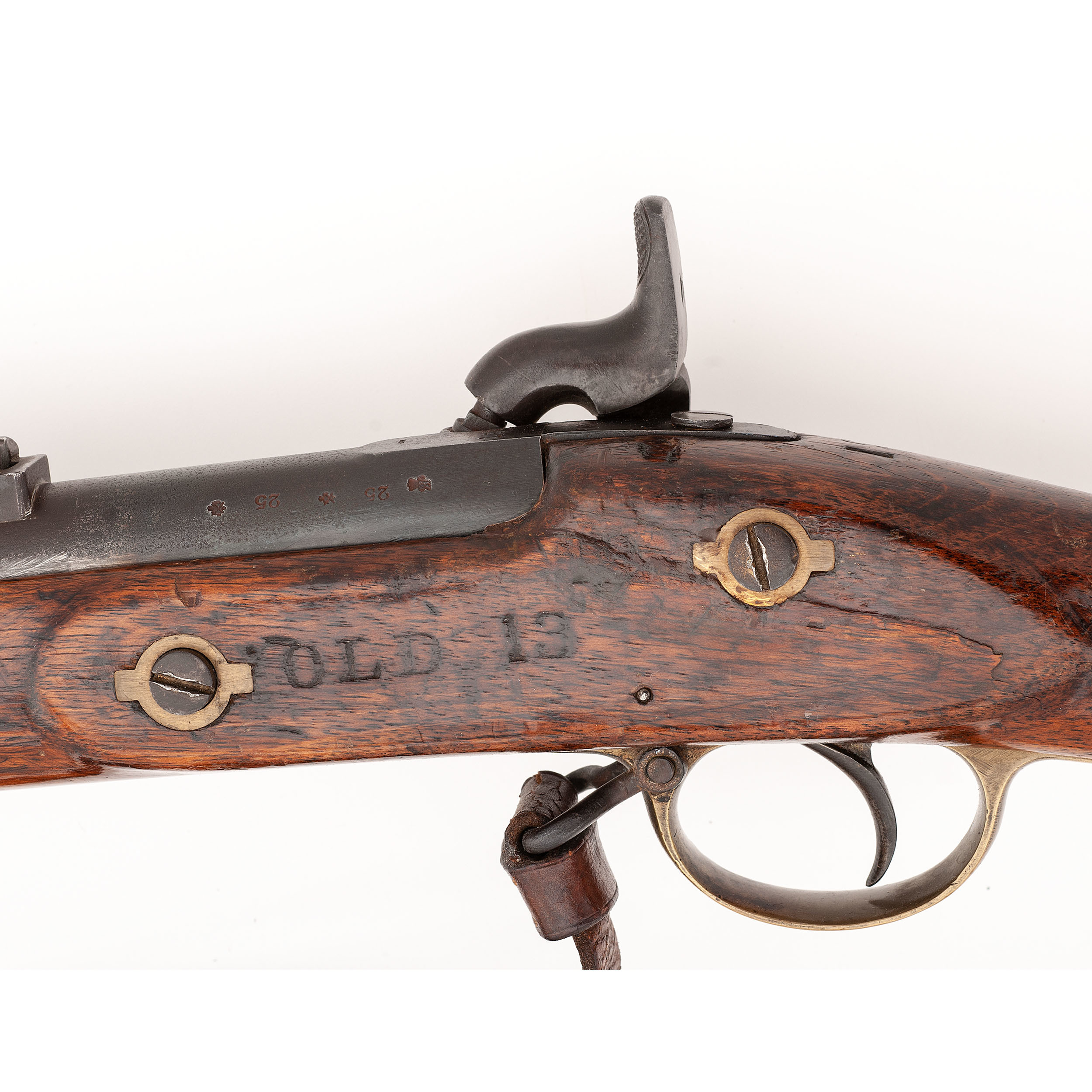 Birmingham Building Trade Towers Birmingham: British Pattern 1853 Enfield Rifle Musket By Bentley