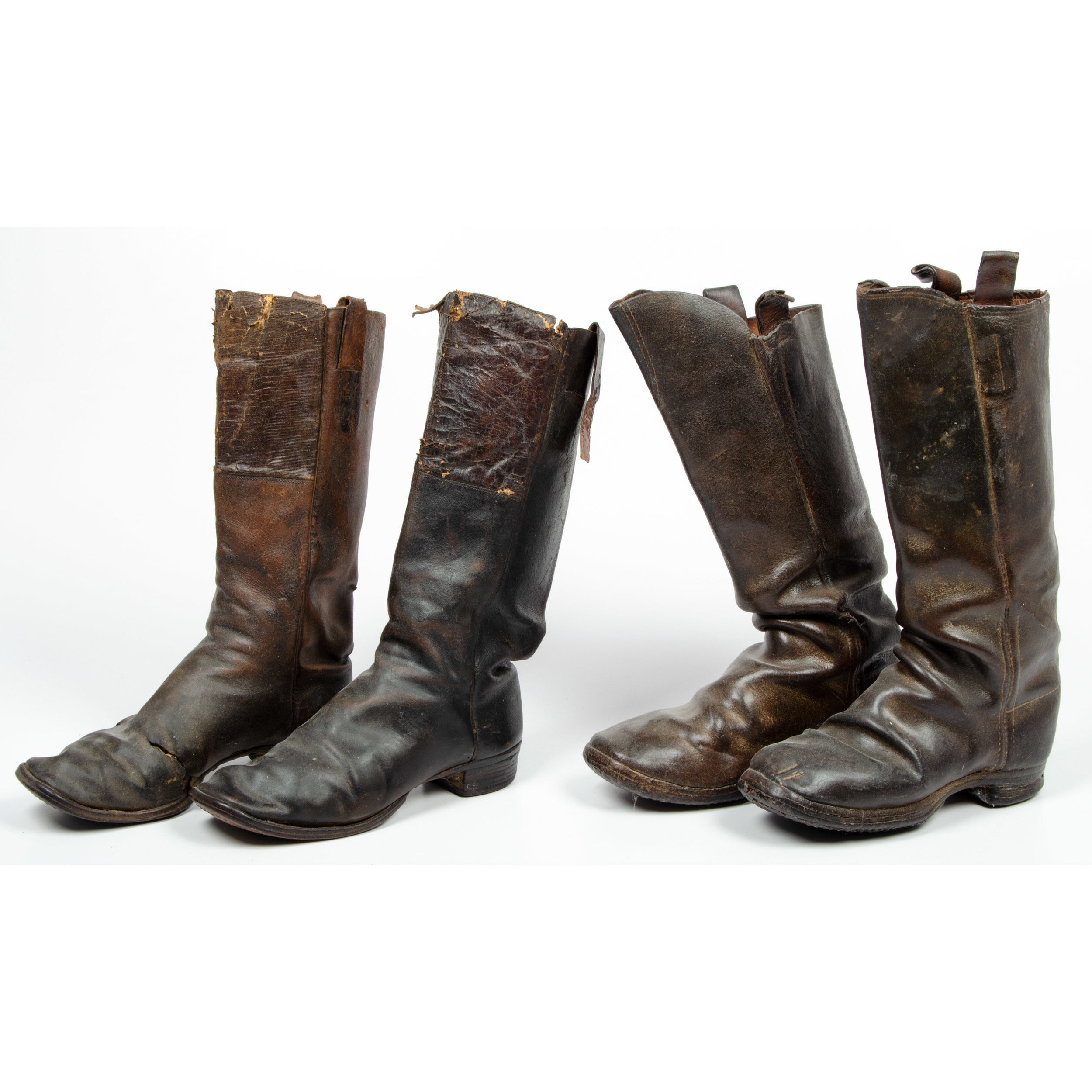 Two Pairs of Civil War Era Boots | Cowan's Auction House