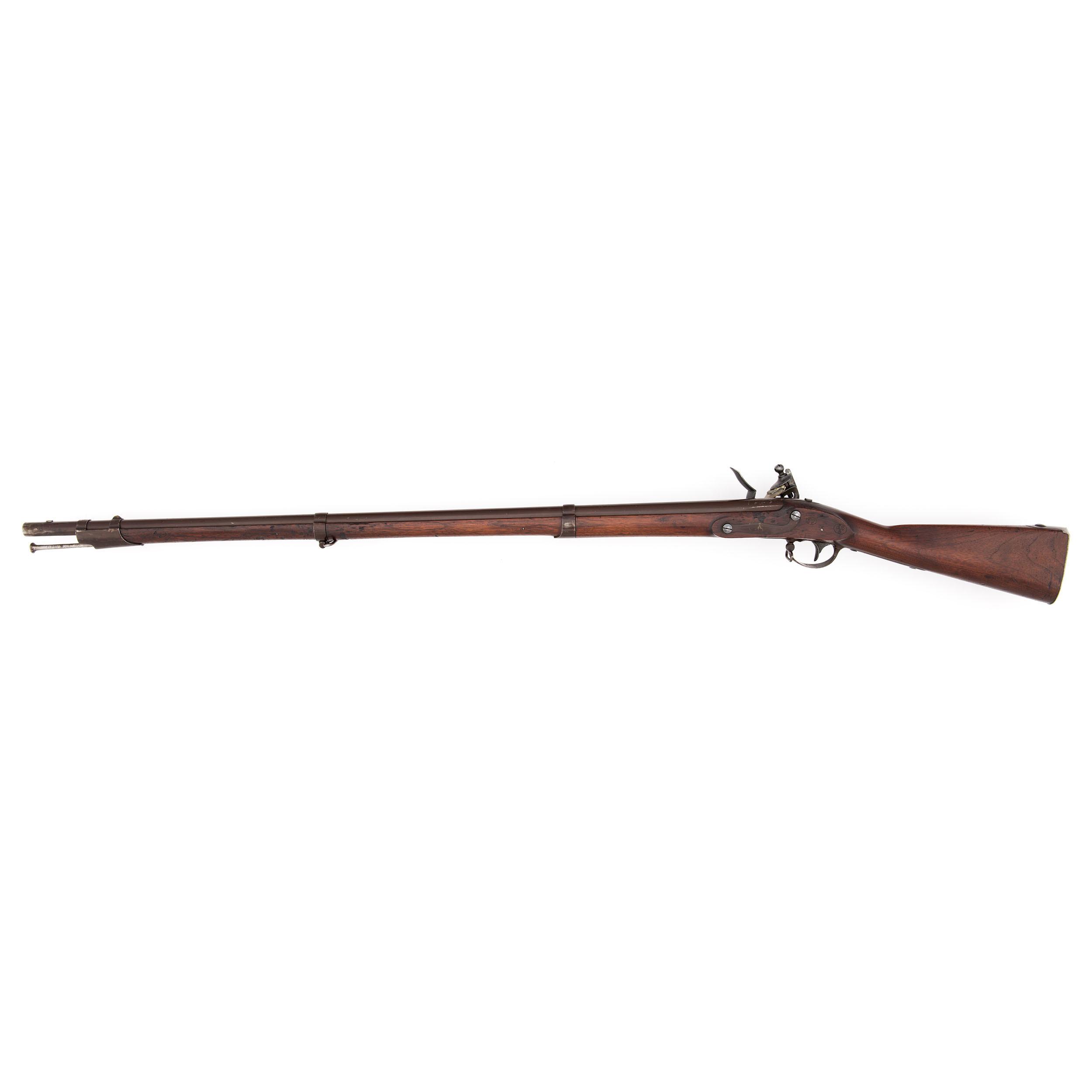 US Model 1822 Flintlock Musket by Springfield | Cowan's