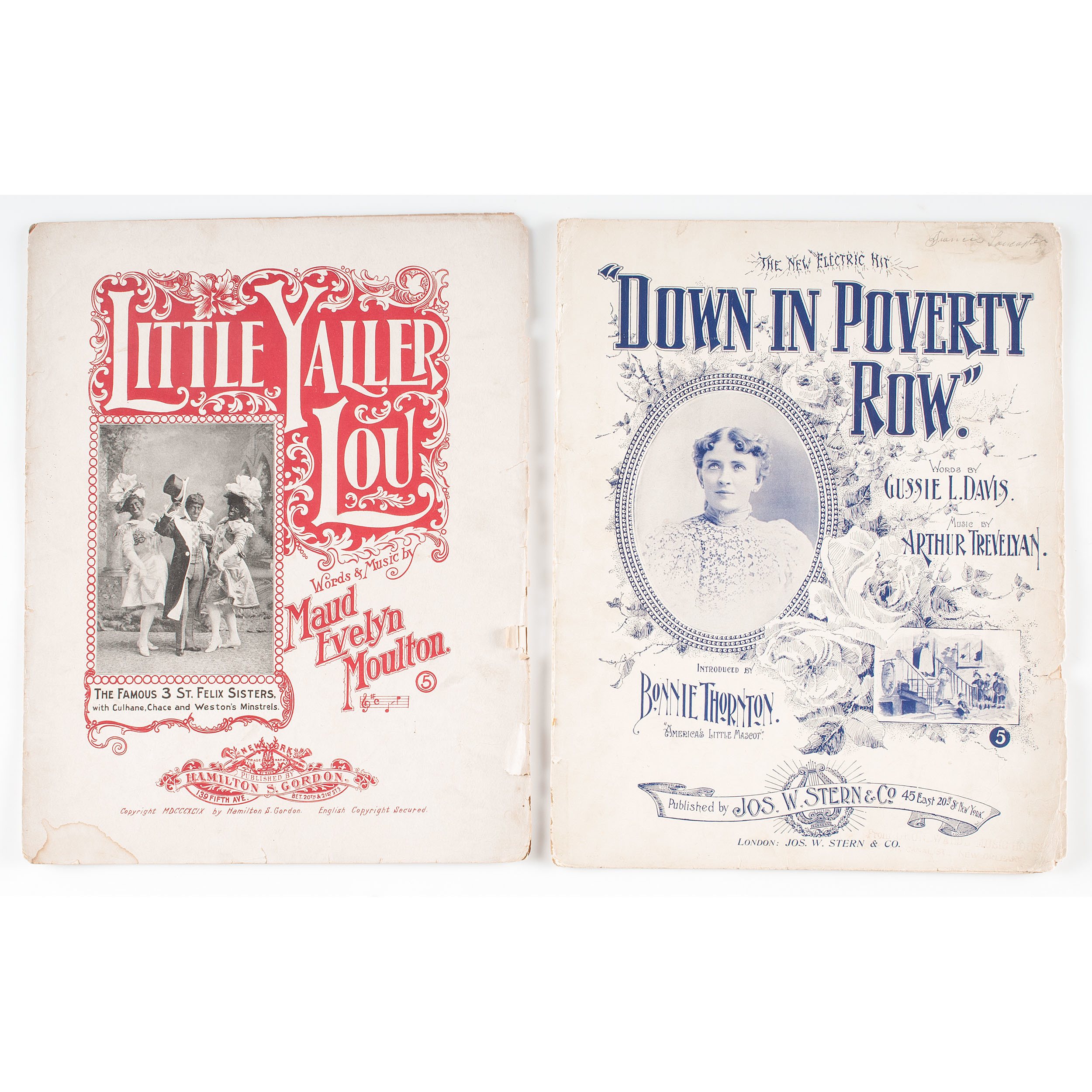 19th Century Sheet Music, Lot of 21 | Cowan's Auction House