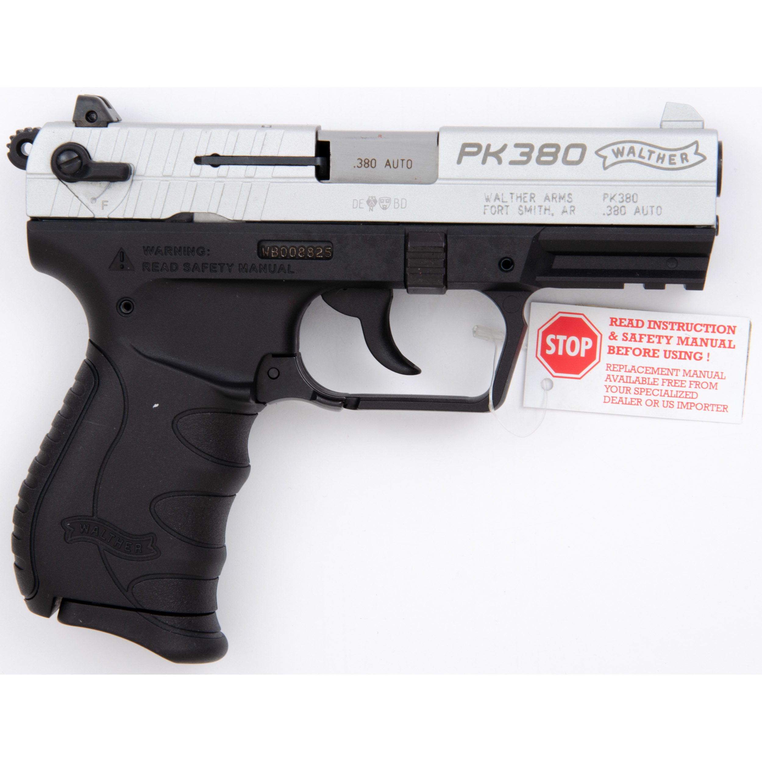 Walther PK380 Two-Tone | Cowan's Auction House: The