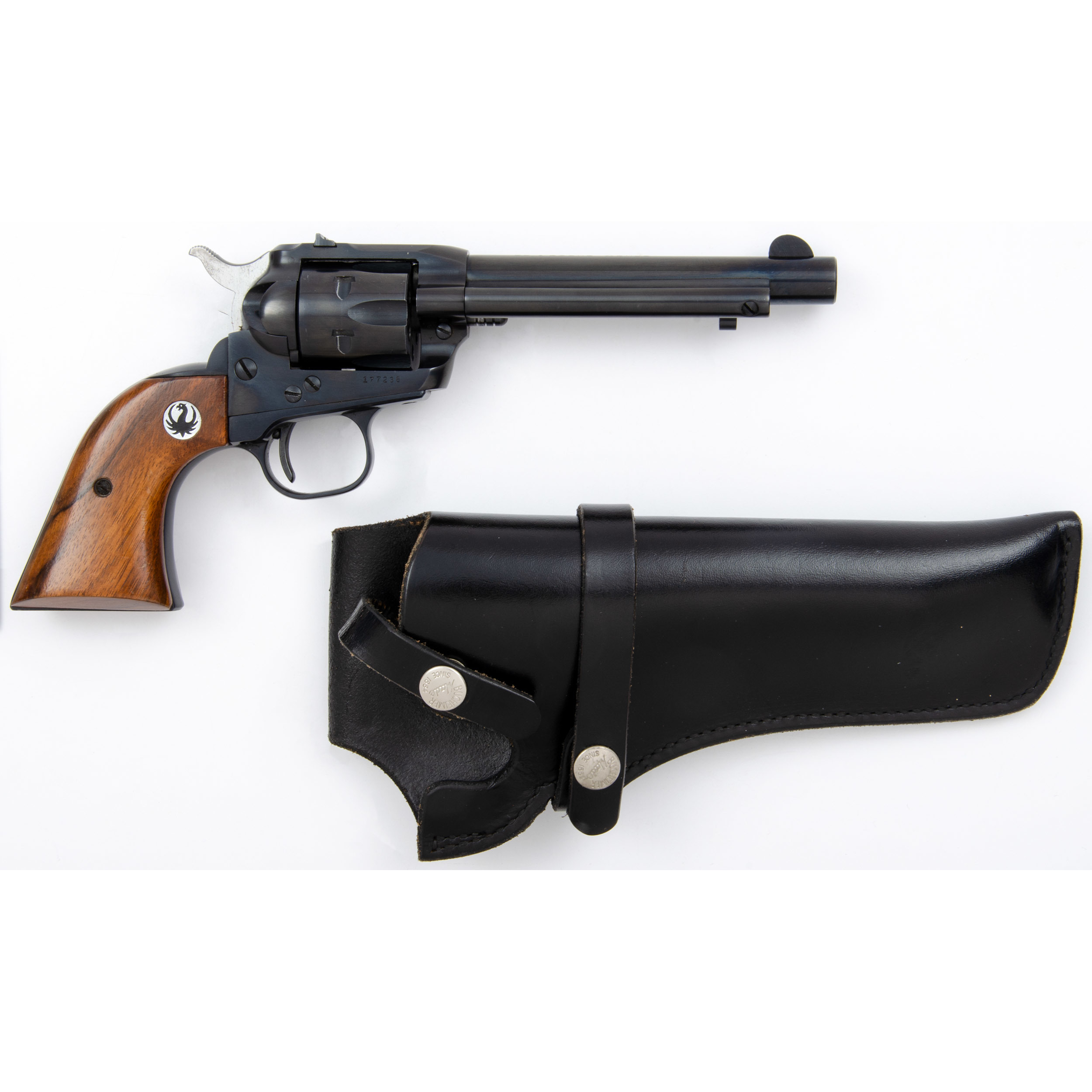 Ruger Single-Six Revolver with Leather Holster | Cowan's Auction