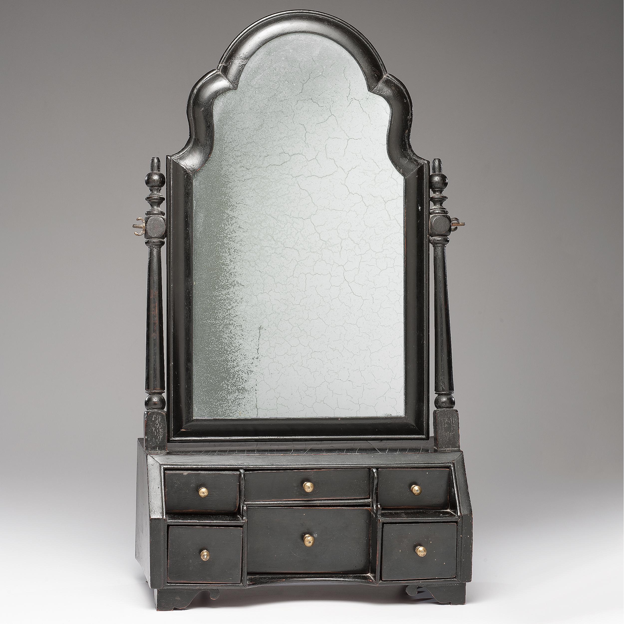 queen anne mirror dresser queen anne ladies dressing mirror cowans auction house the